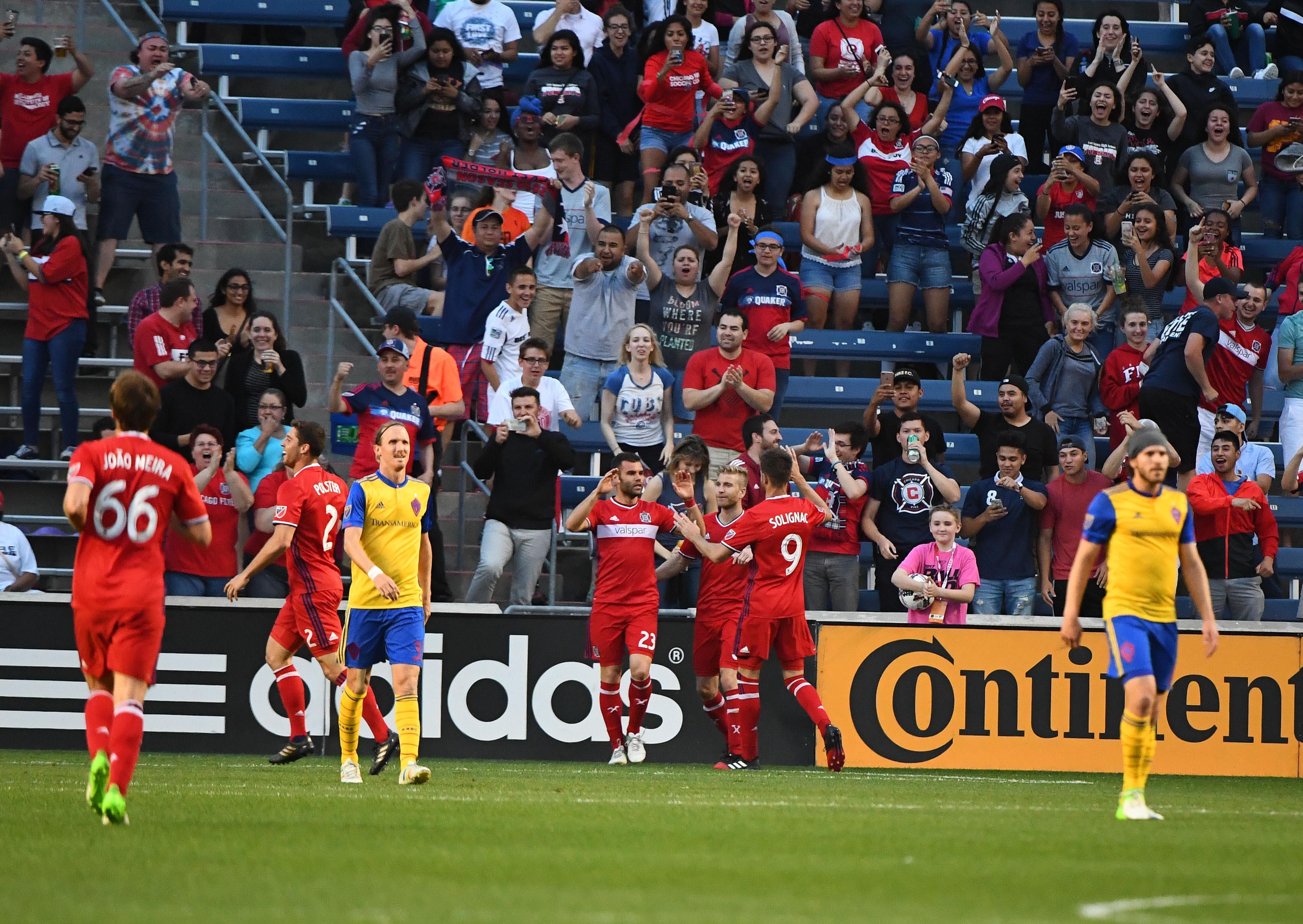 MLS: Colorado Rapids at Chicago Fire