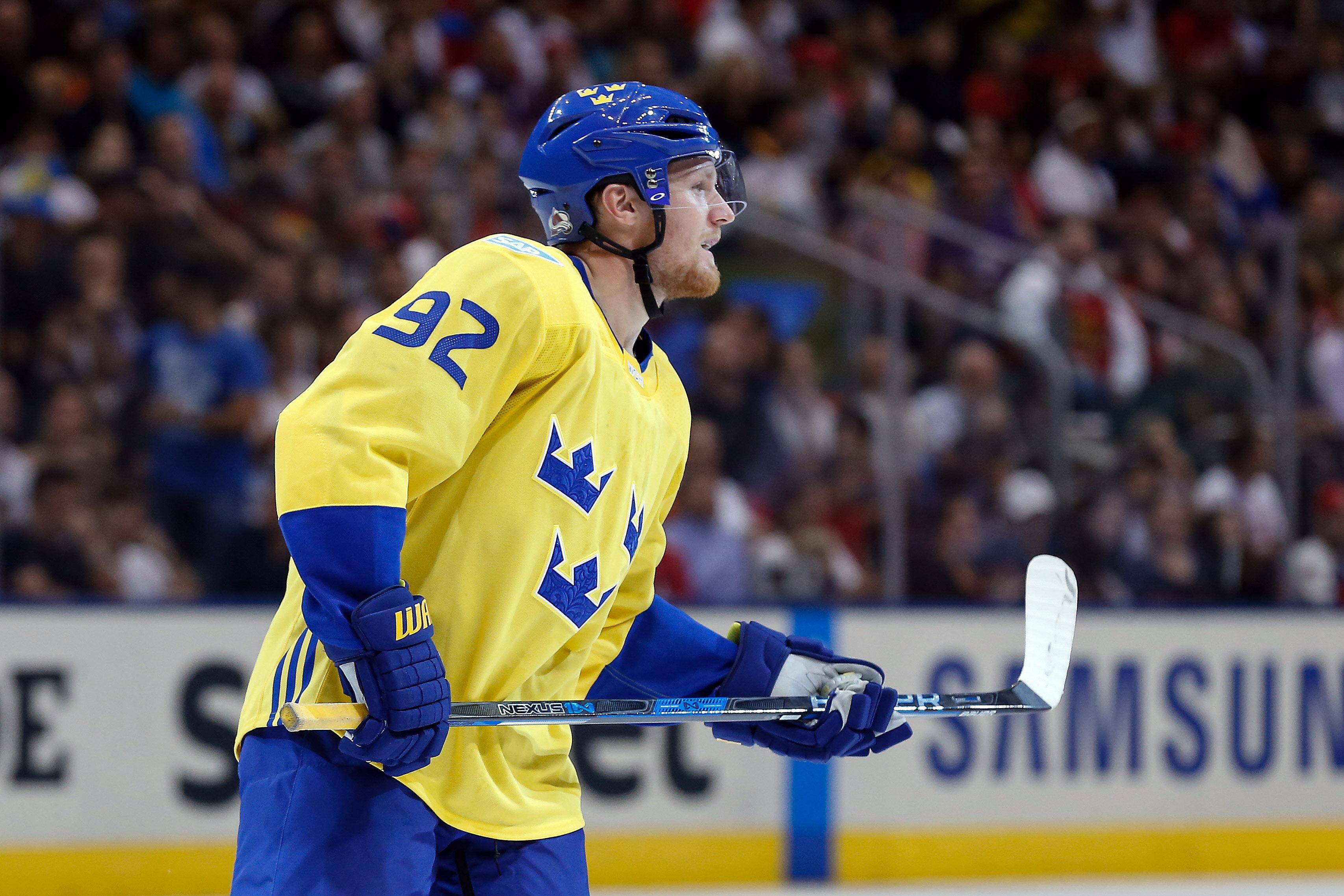 Hockey: World Cup of Hockey-Team Russia vs Team Sweden