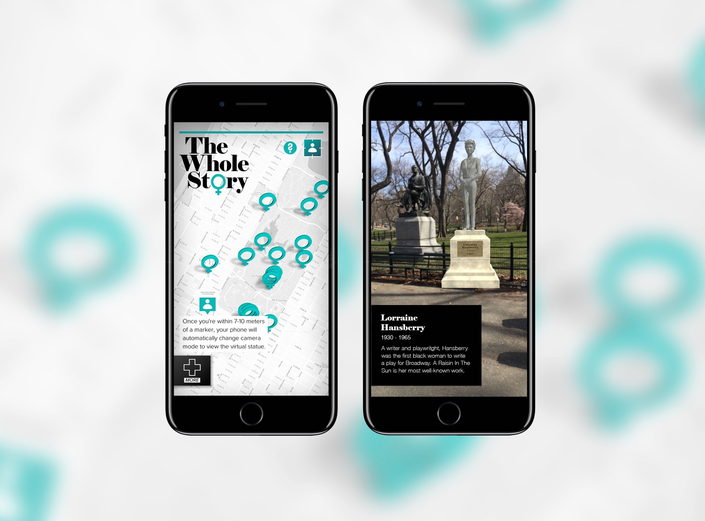 With new app, important women of history get overdue virtual statues
