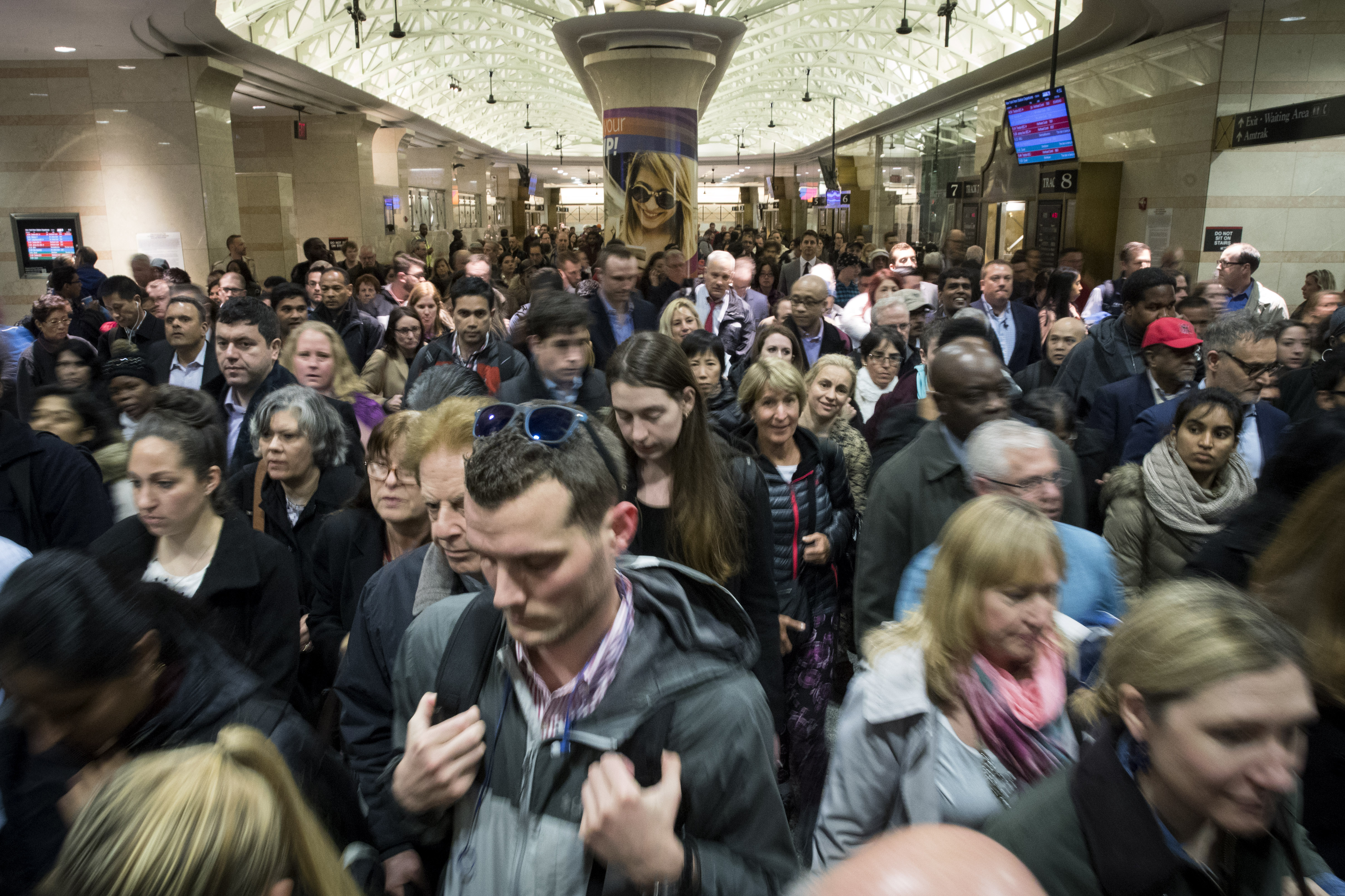 Mass Transit Disruptions Create Chaos For NYC Commuters