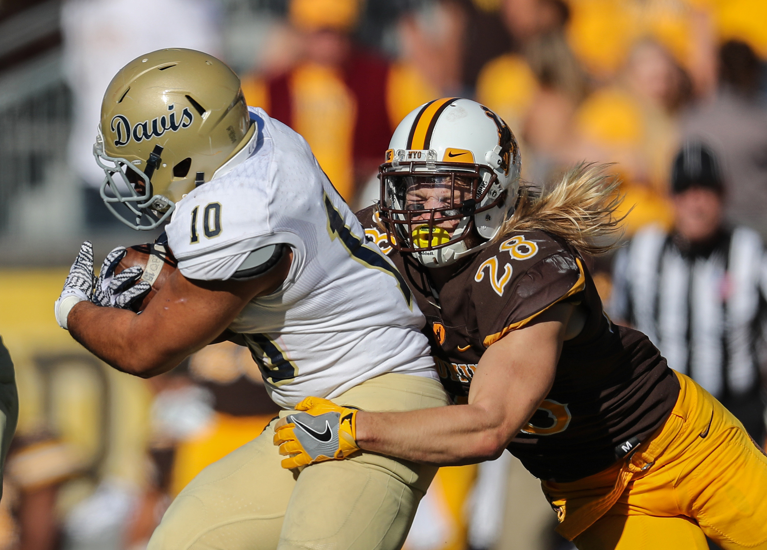 NCAA Football: UC - Davis at Wyoming