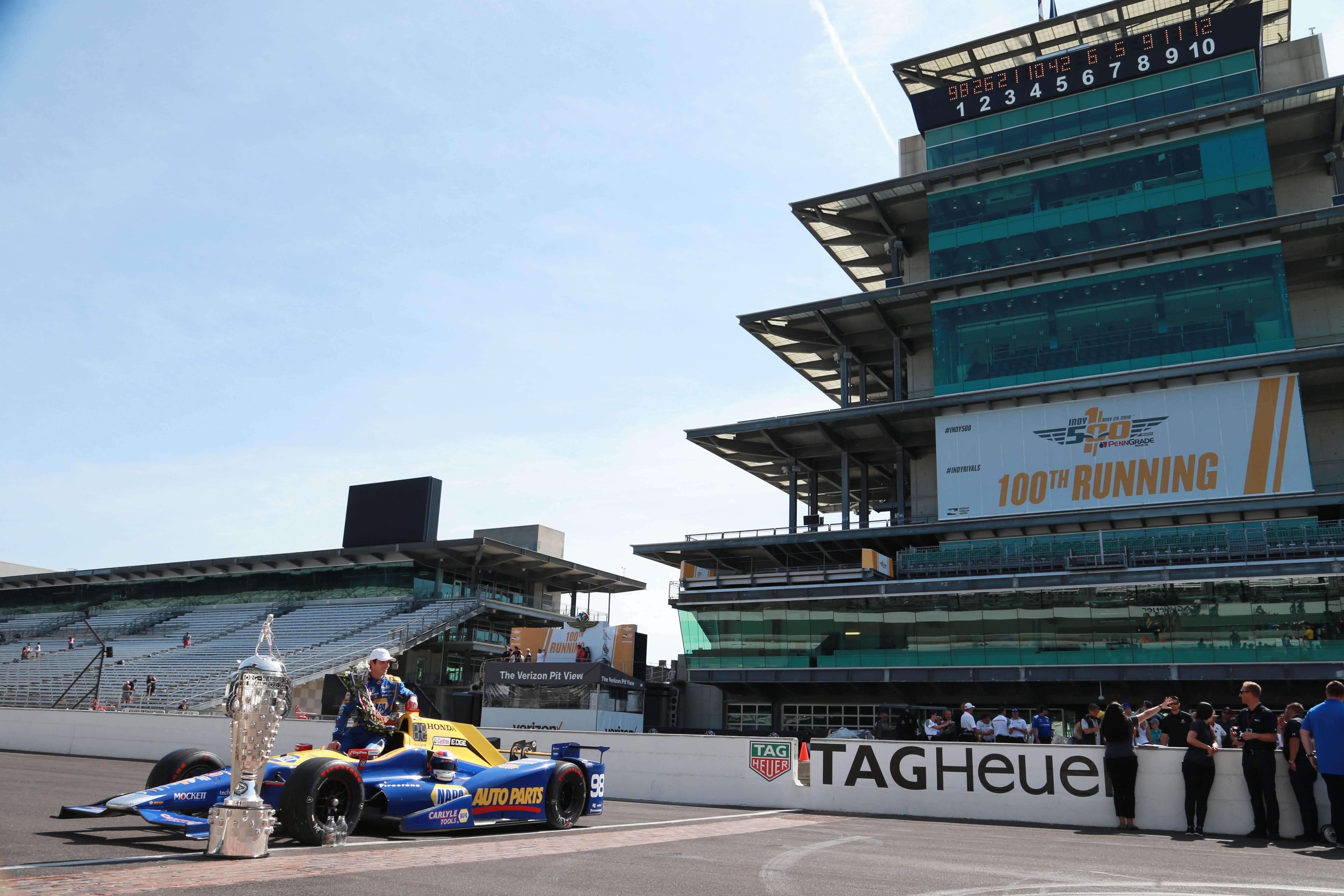 IndyCar: Indianapolis 500 Winner Portraits
