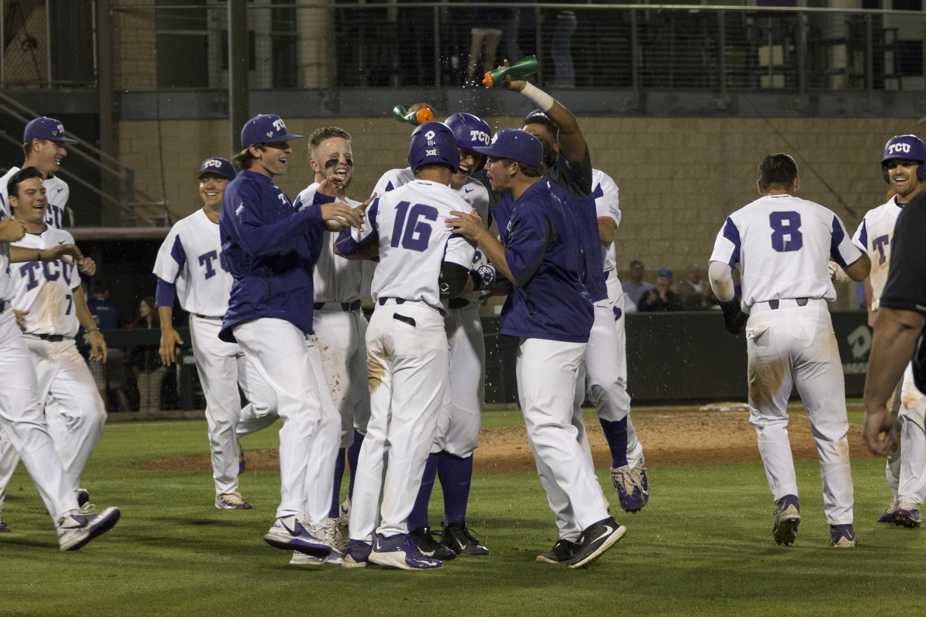 TCU hopes they have a few more celebrations in store at Lupton this season.