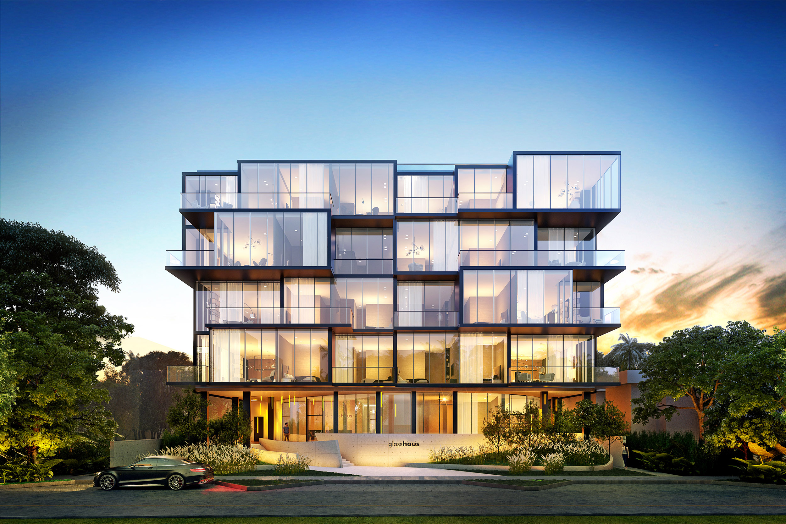 Glasshaus Coconut Grove is Miami's sexiest new boutique condo