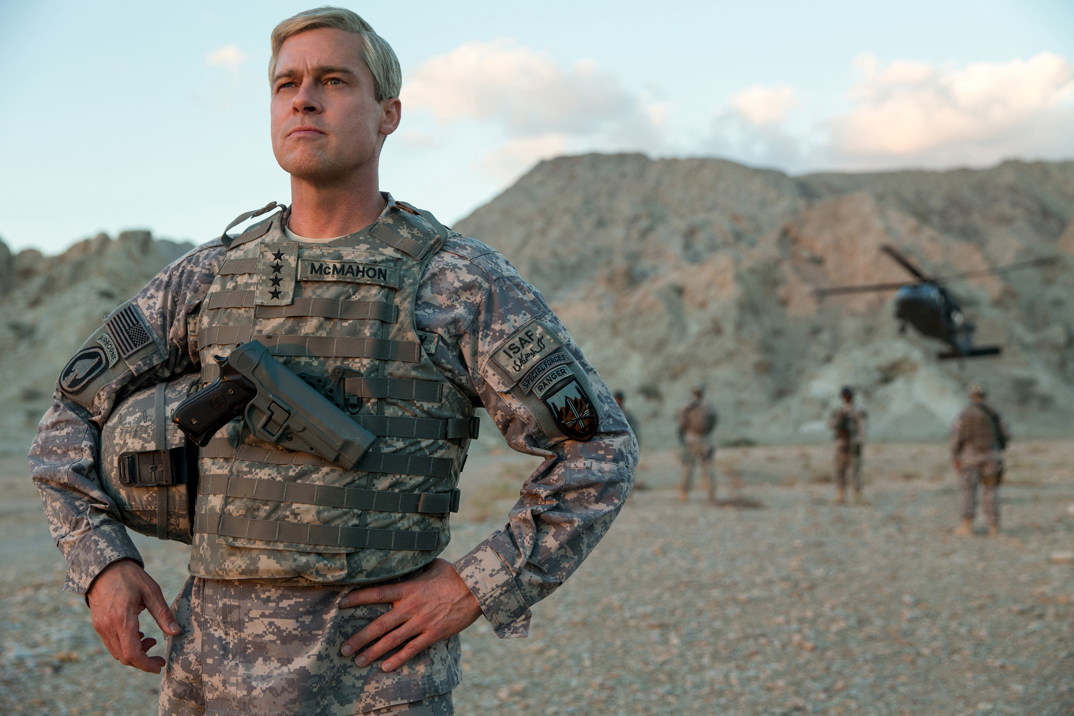 Netflix's War Machine, starring Brad Pitt, is a disappointingly flat wartime farce