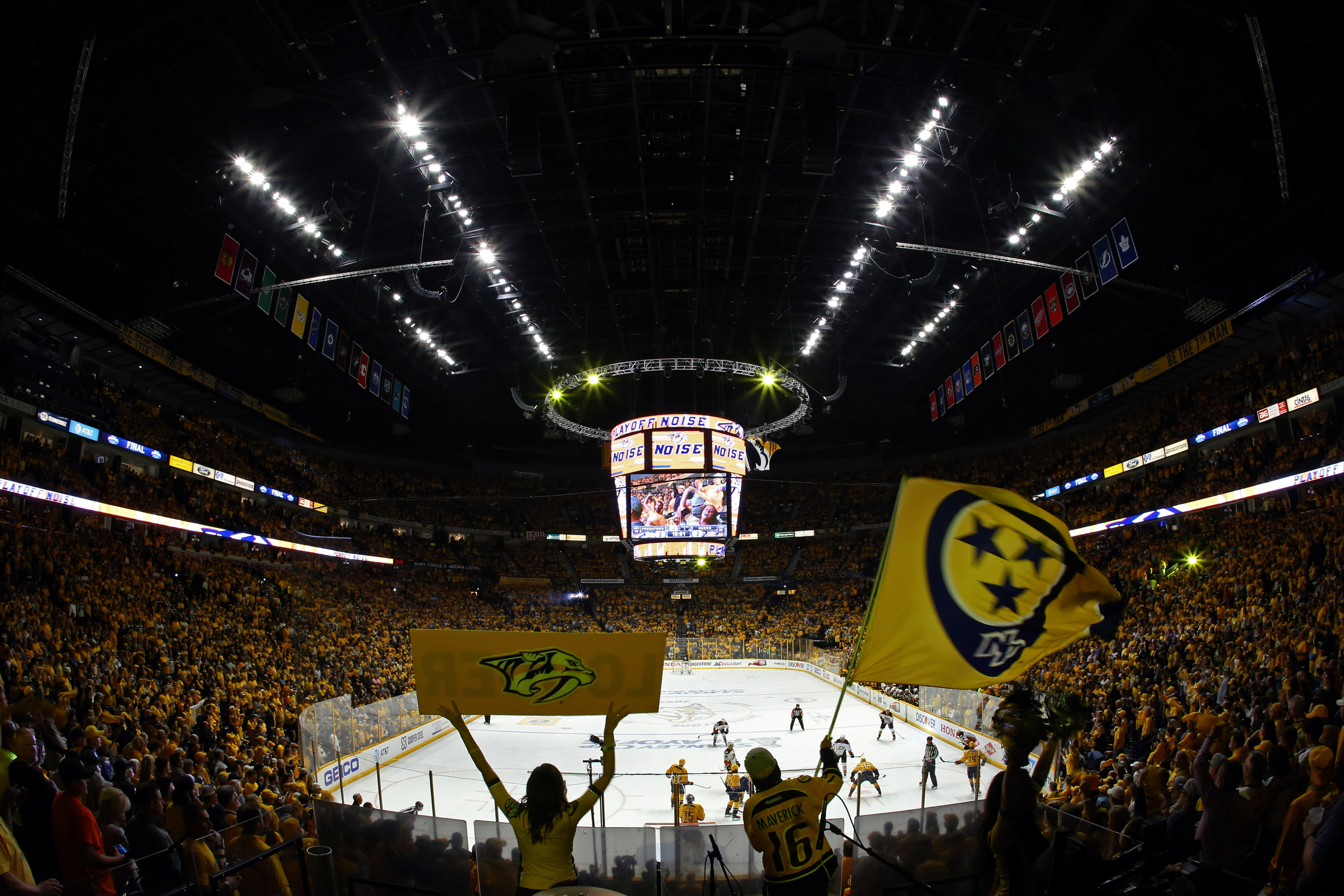 NHL: Stanley Cup Playoffs-Anaheim Ducks at Nashville Predators