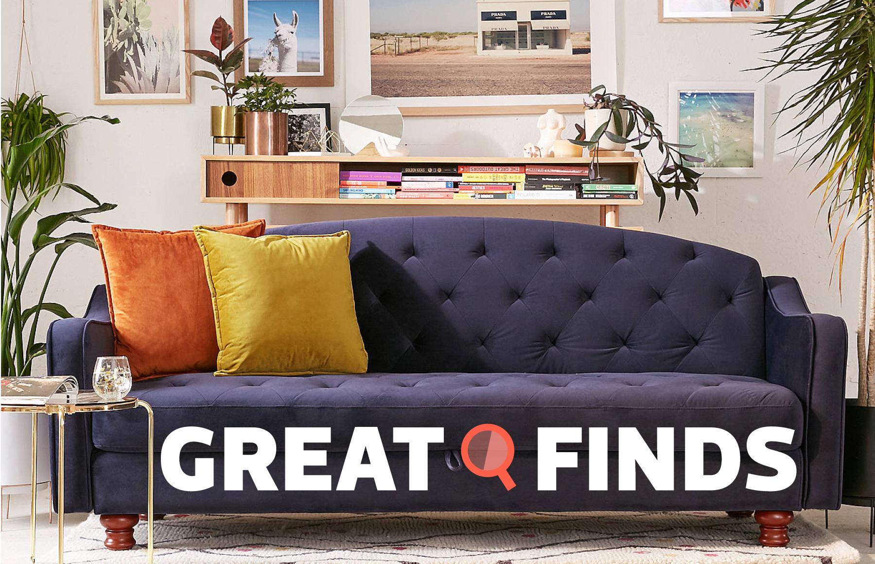 storage sleeper sofa