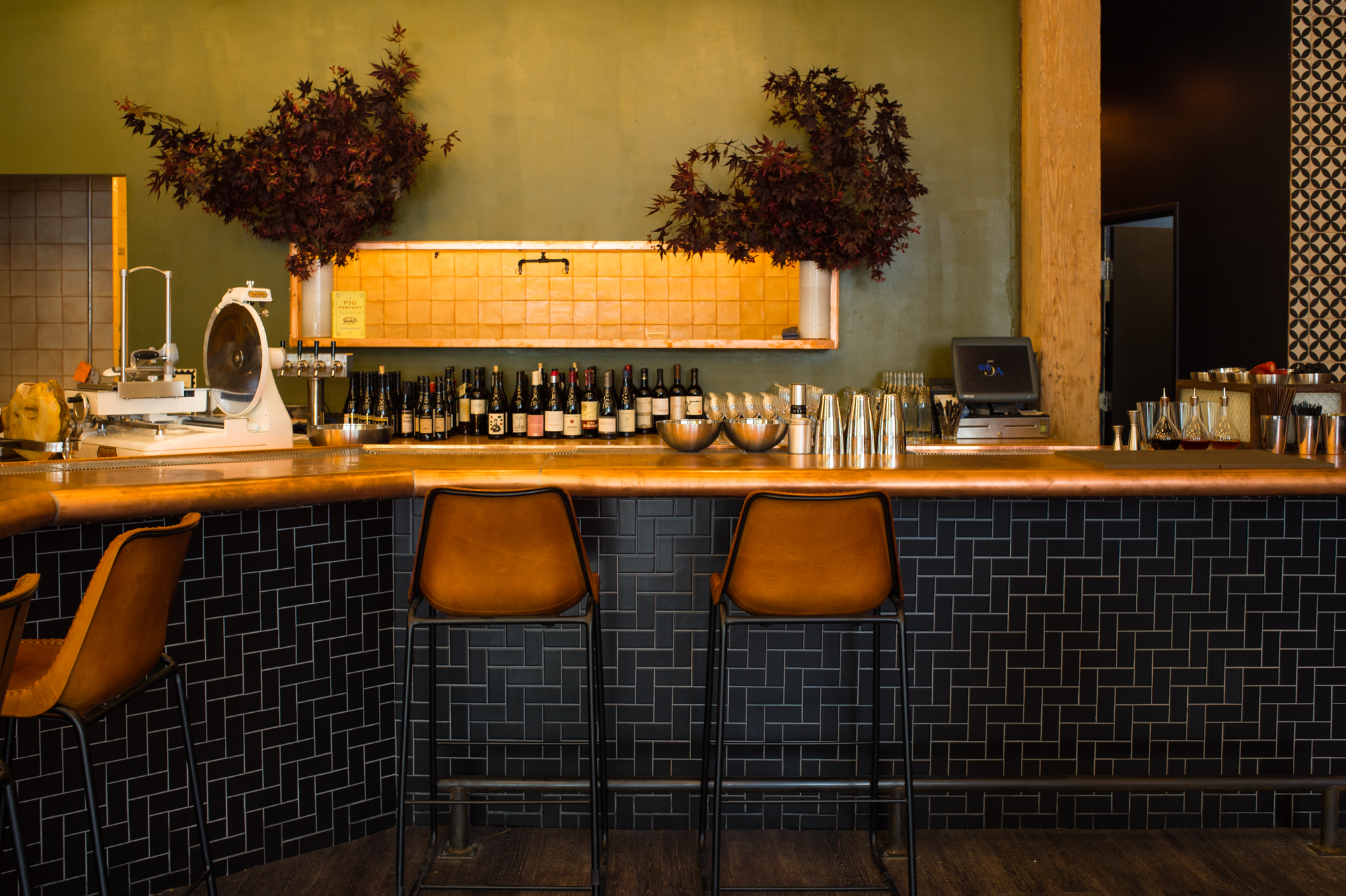 Take a Look Around Inside Hamlet Bar