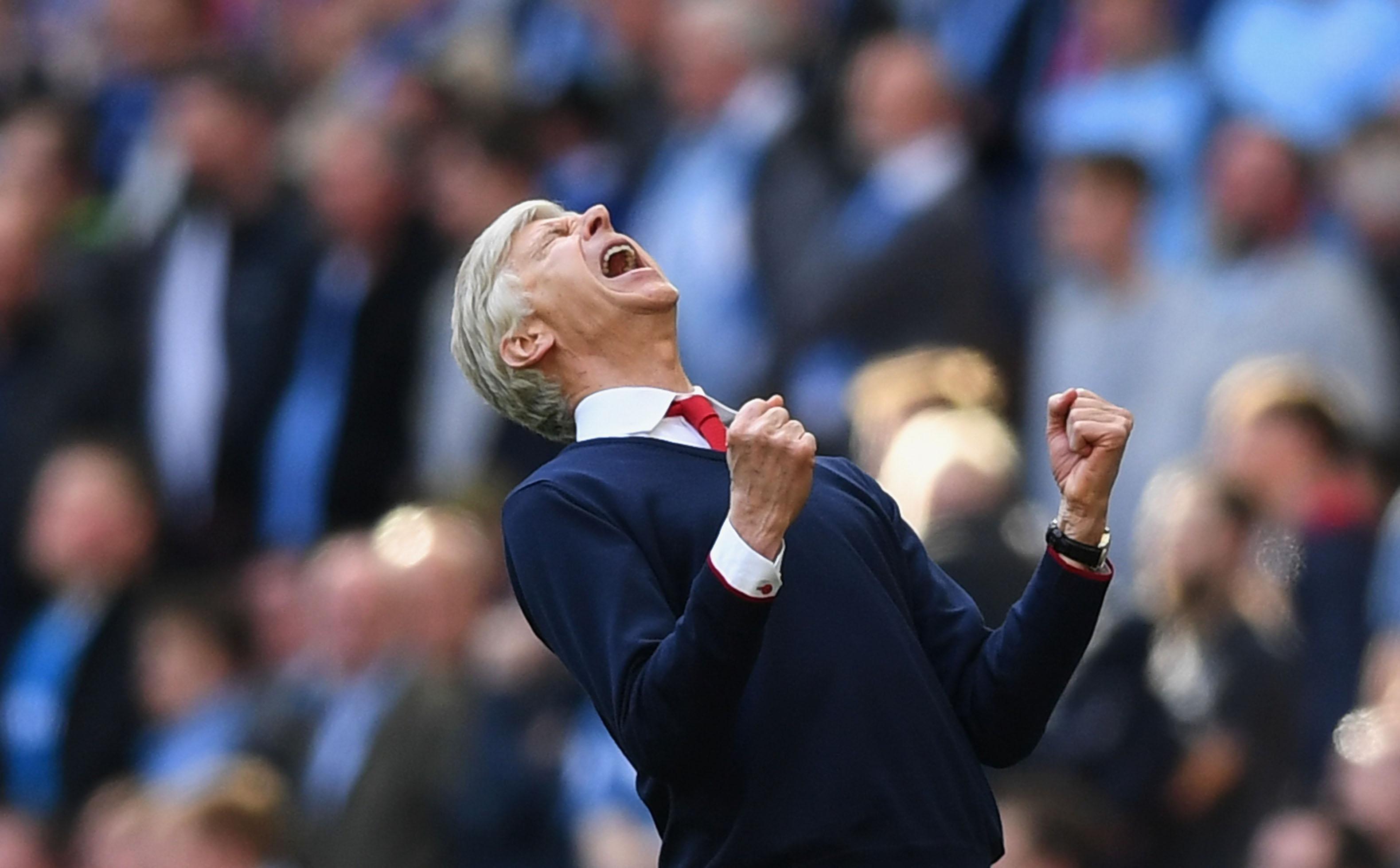 Arsenal v Manchester City - The Emirates FA Cup Semi-Final