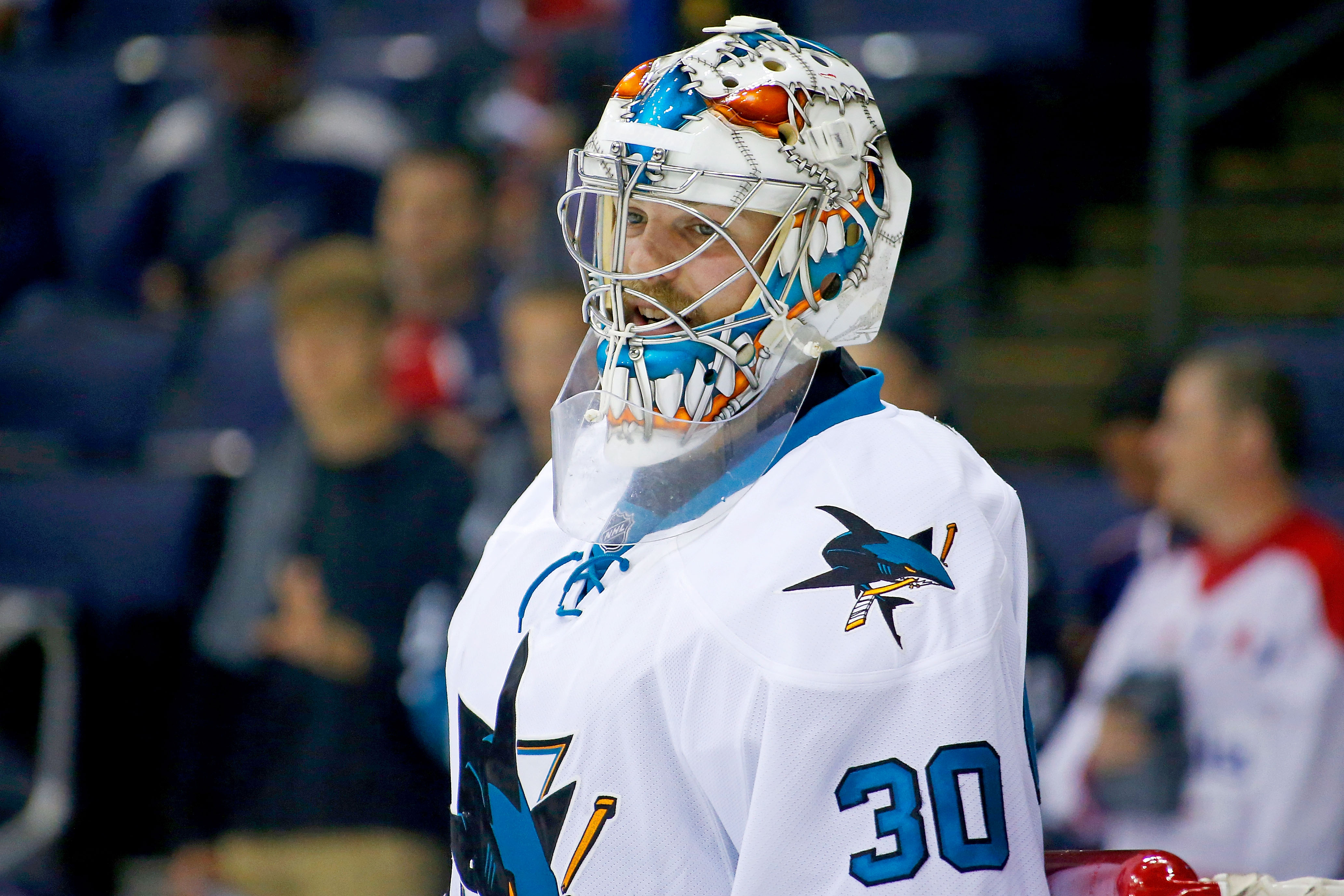 San Jose Sharks v Columbus Blue Jackets