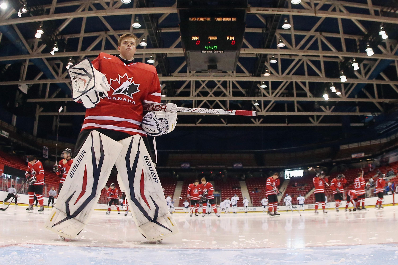 Finland v Canada - 2013 USA Hockey Junior Evaluation Camp