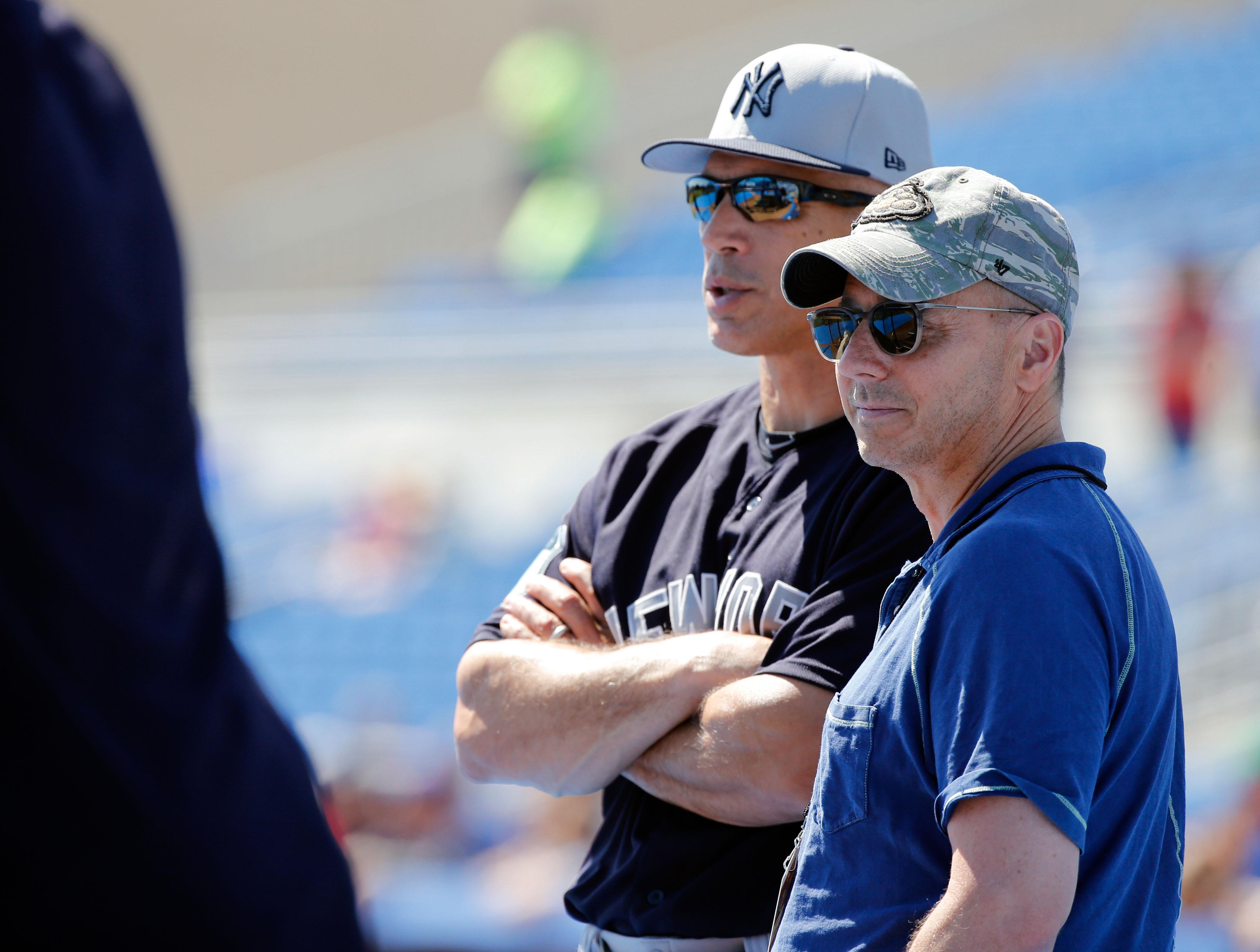 MLB: Spring Training-New York Yankees at Toronto Blue Jays