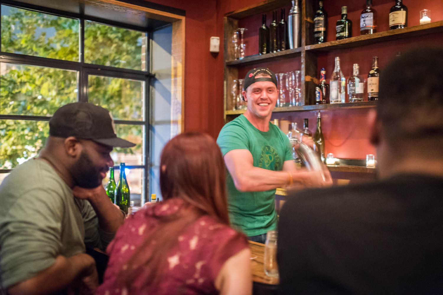 Trevor Frye's new Five to One bar at 903 U Street NW.