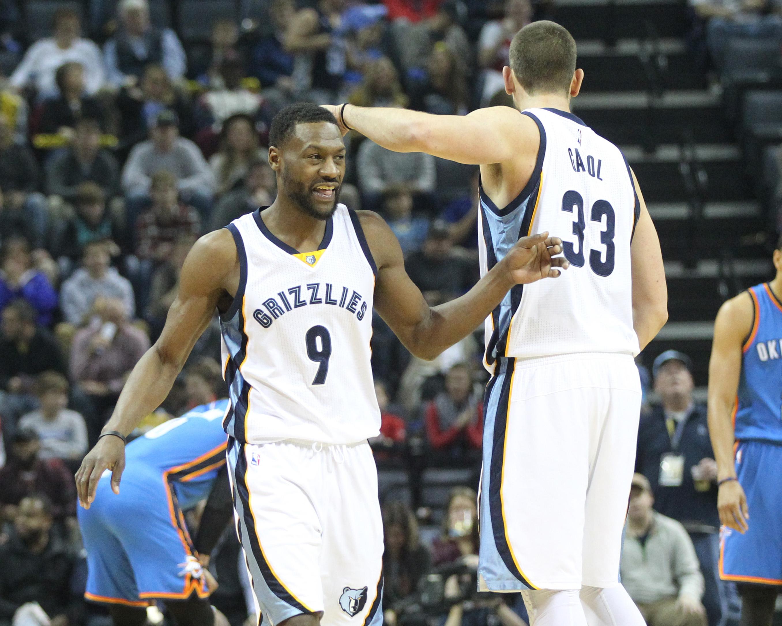 NBA: Oklahoma City Thunder at Memphis Grizzlies
