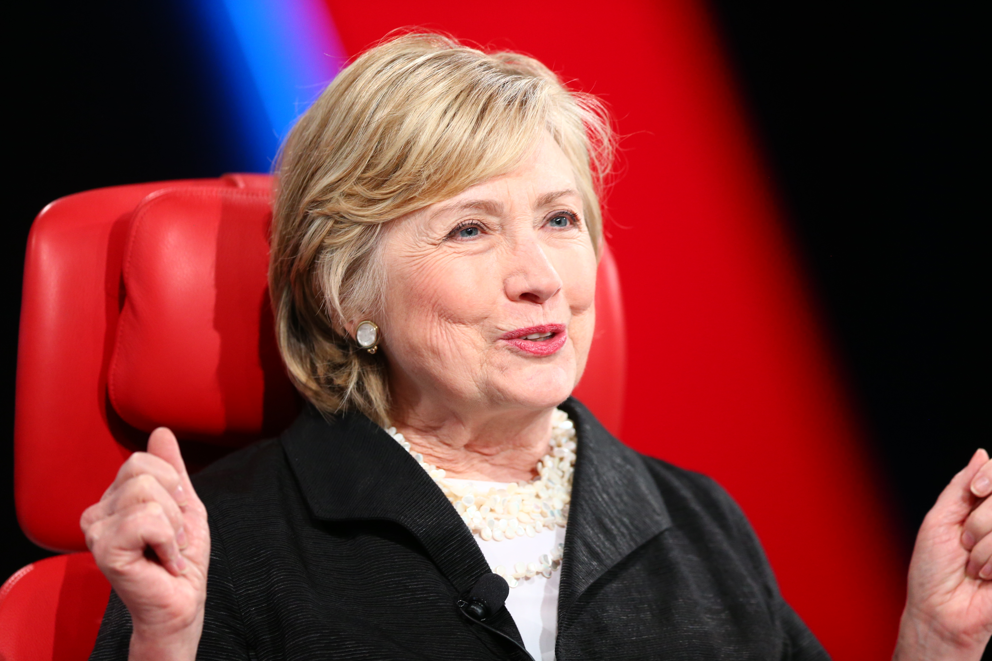 Hillary Clinton, Code Conference