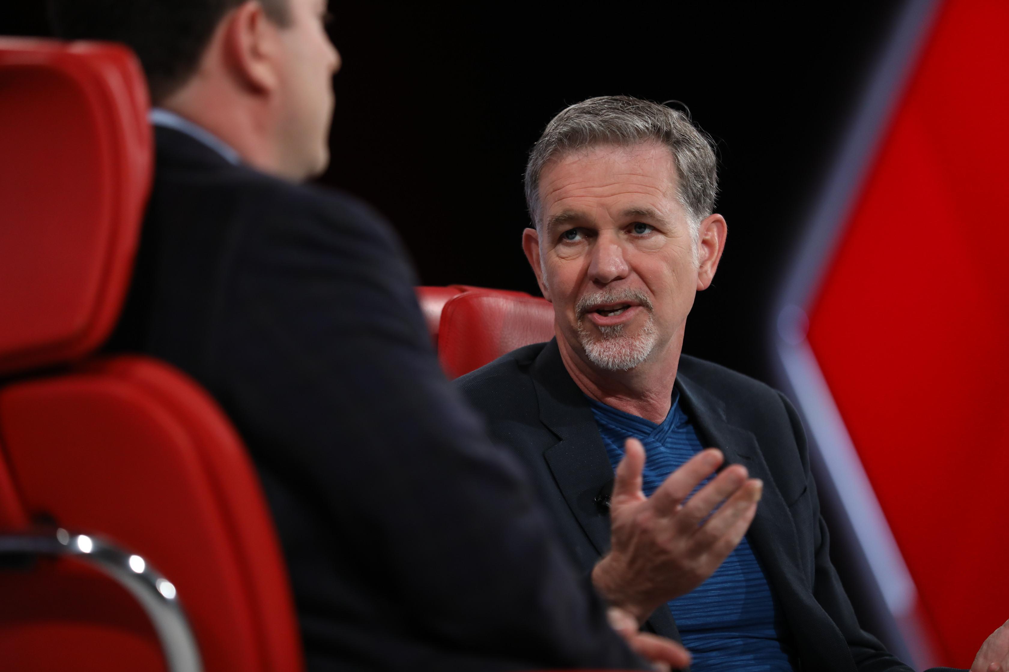 Reed Hastings, Netflix, Code 2017