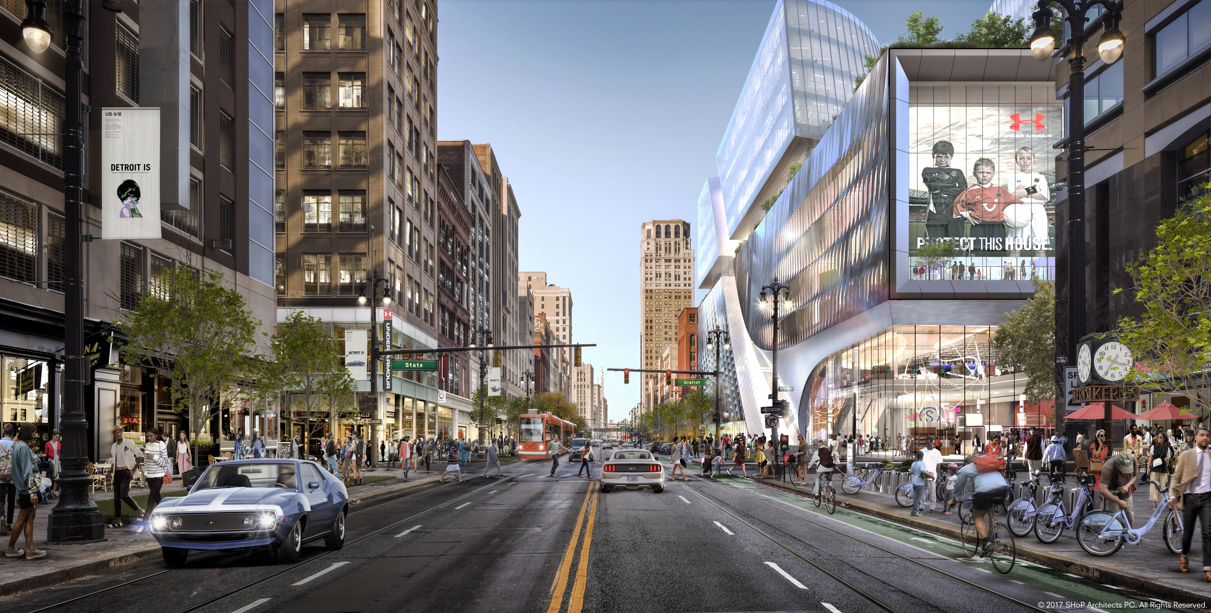 Hudson's site updates: Groundbreaking on schedule, high rents planned