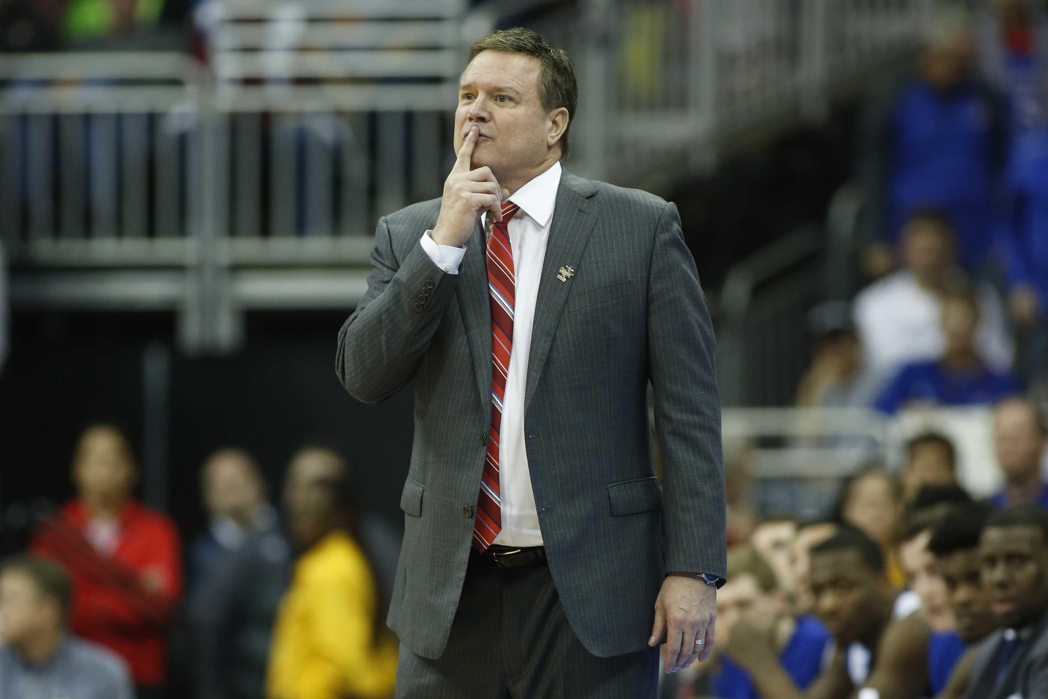 NCAA Basketball: NCAA Tournament-Midwest Regional-Kansas vs Oregon