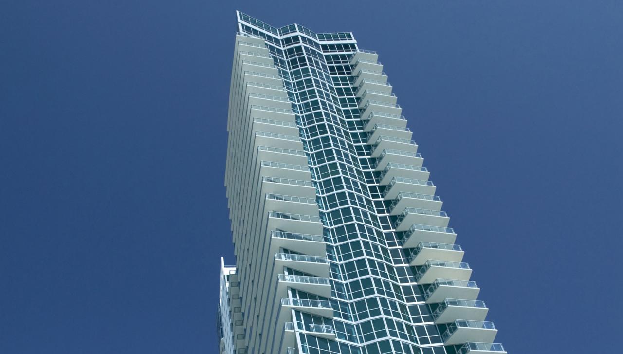 An exterior of the Setai Miami Beach