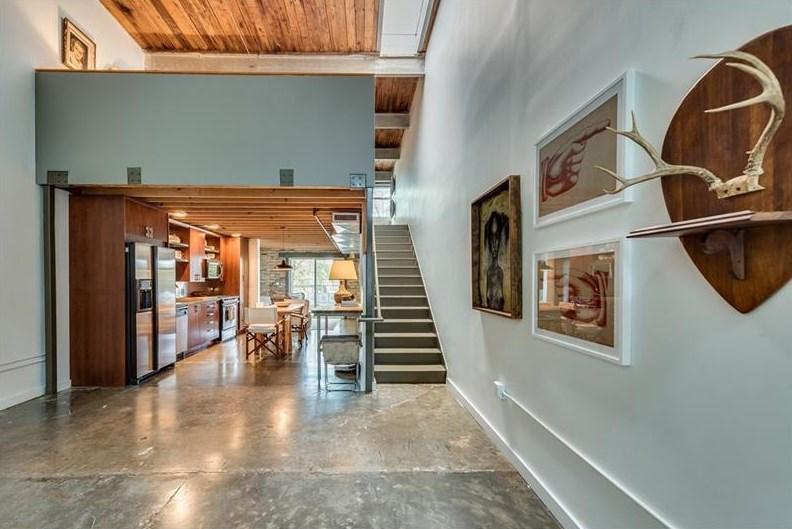 A loft for sale in Atlanta's Edgewood neighborhood for $240,000.