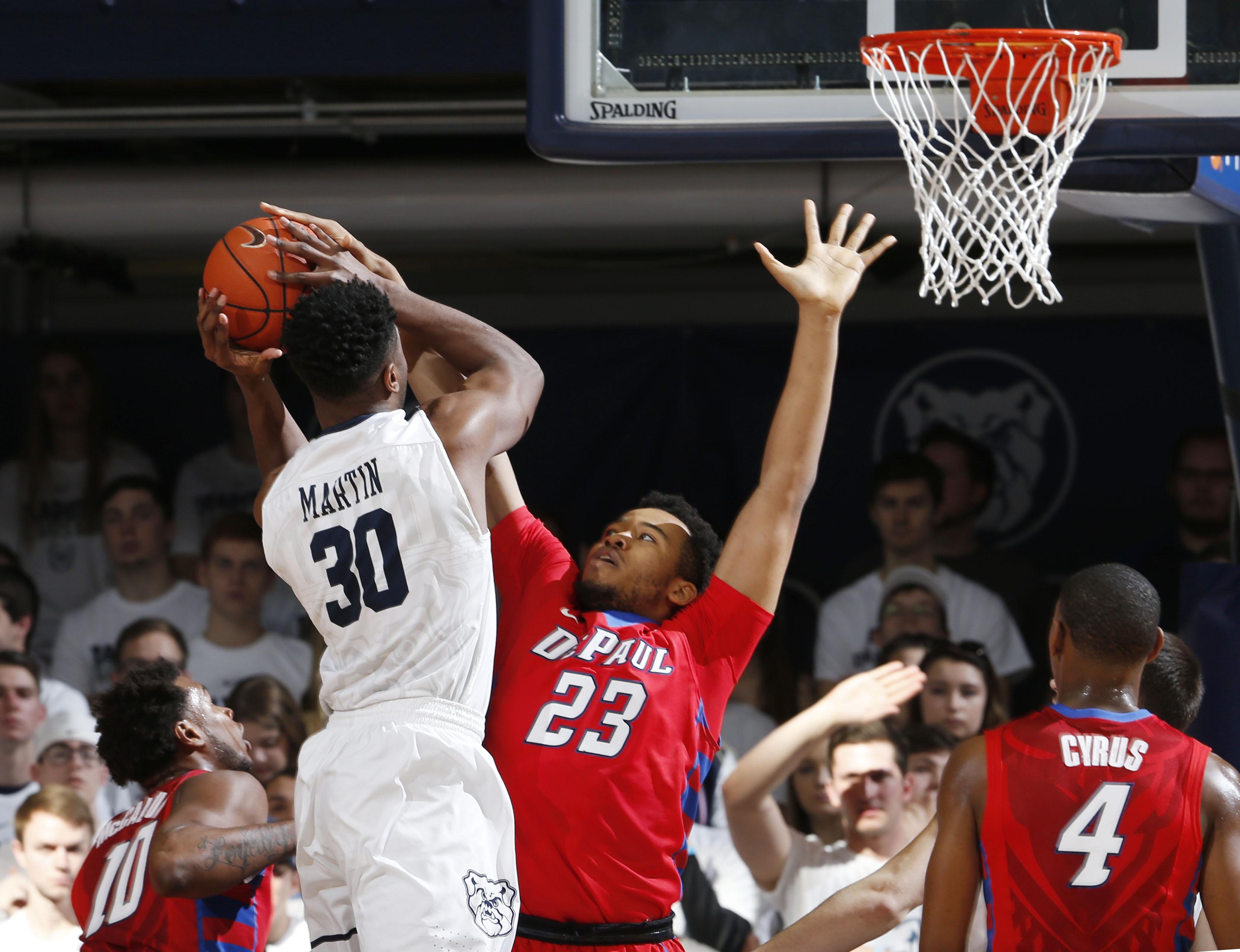 NCAA Basketball: DePaul at Butler