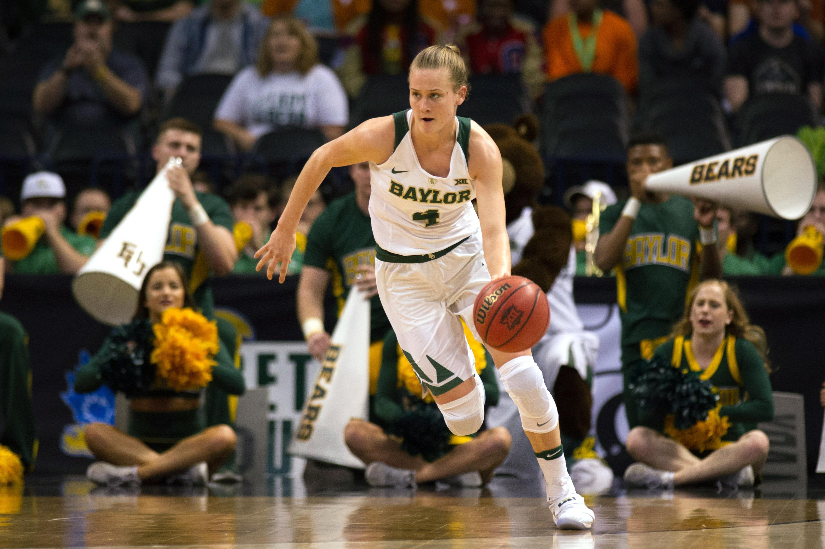 NCAA Womens Basketball: Big 12 Conference Tournament-West Virginia vs Baylor