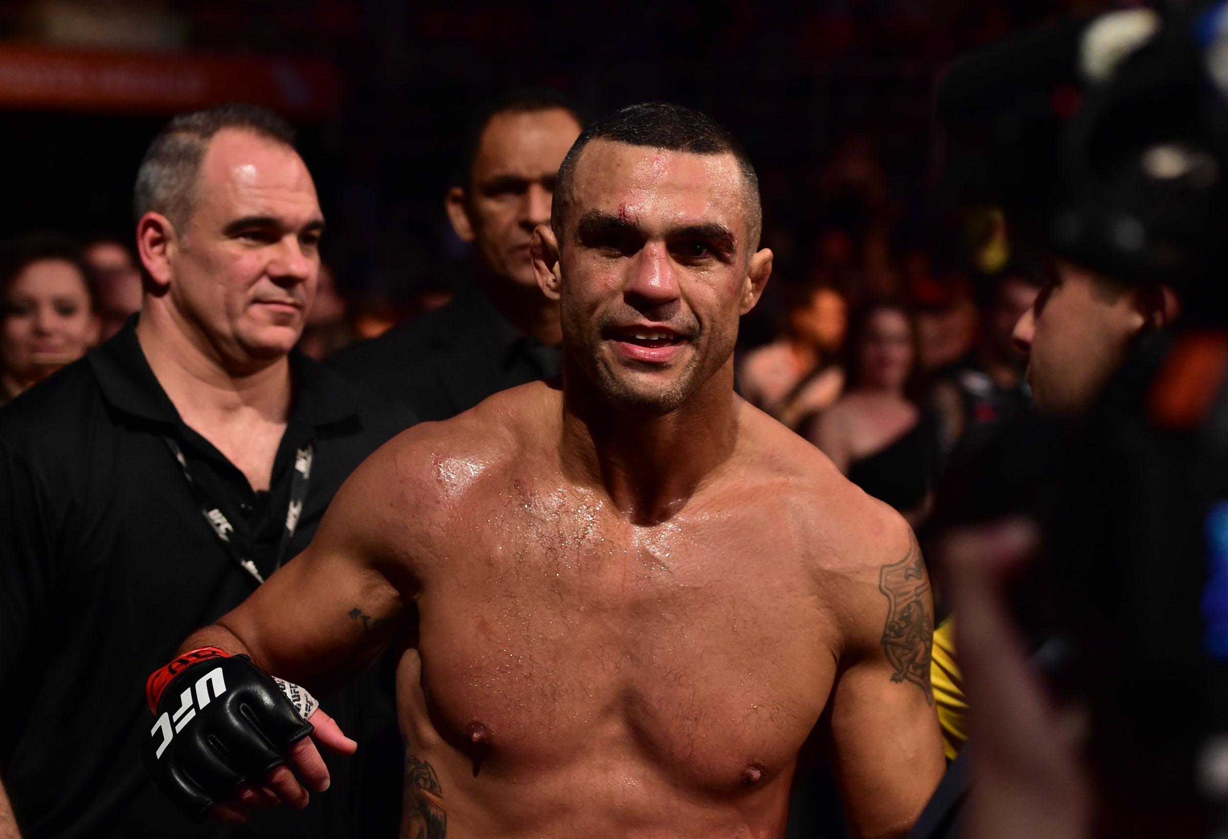 MMA: UFC 212-Belfort vs Marquardt