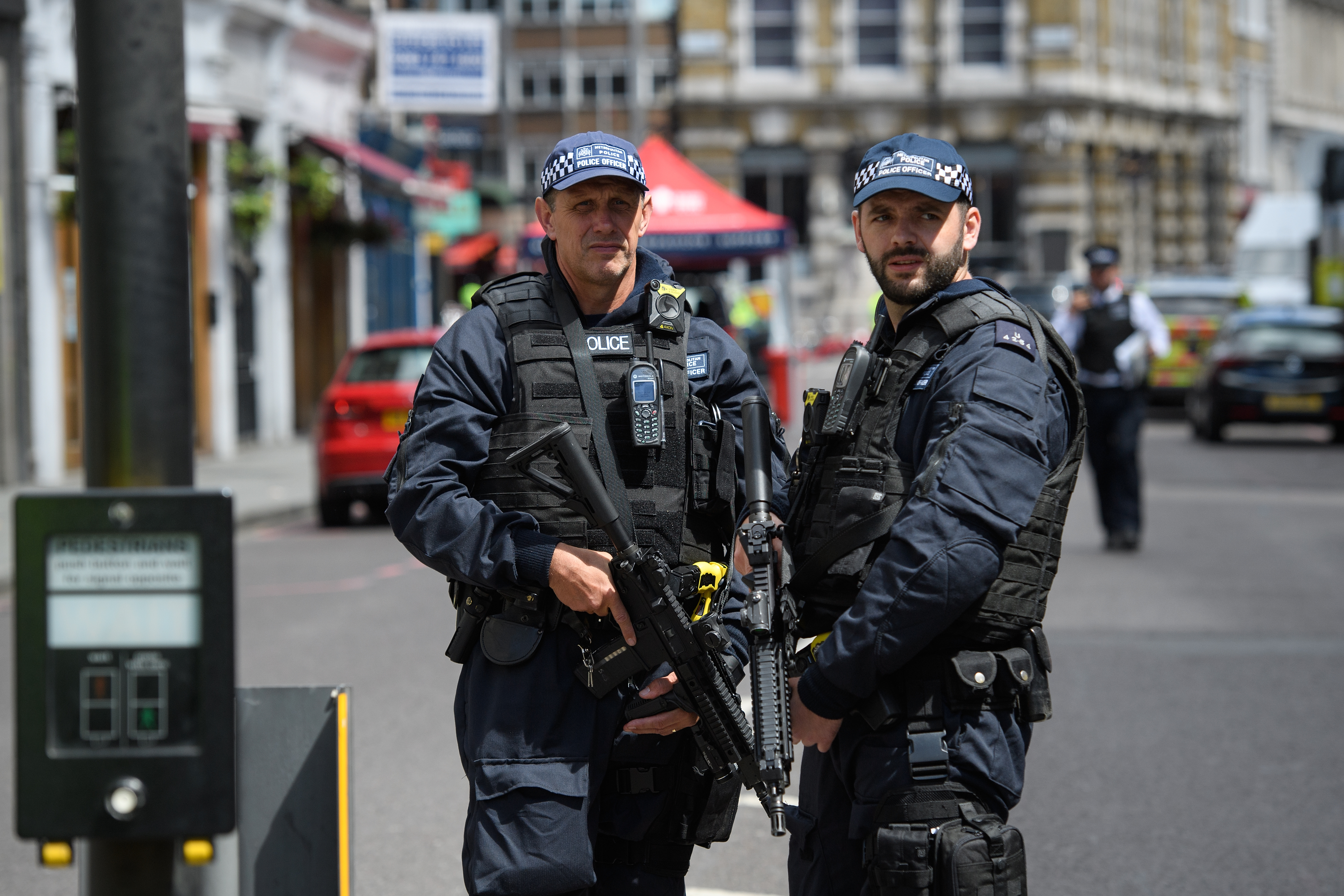 Londoners aren't freaking out about the terrorist attacks. Some politicians are.