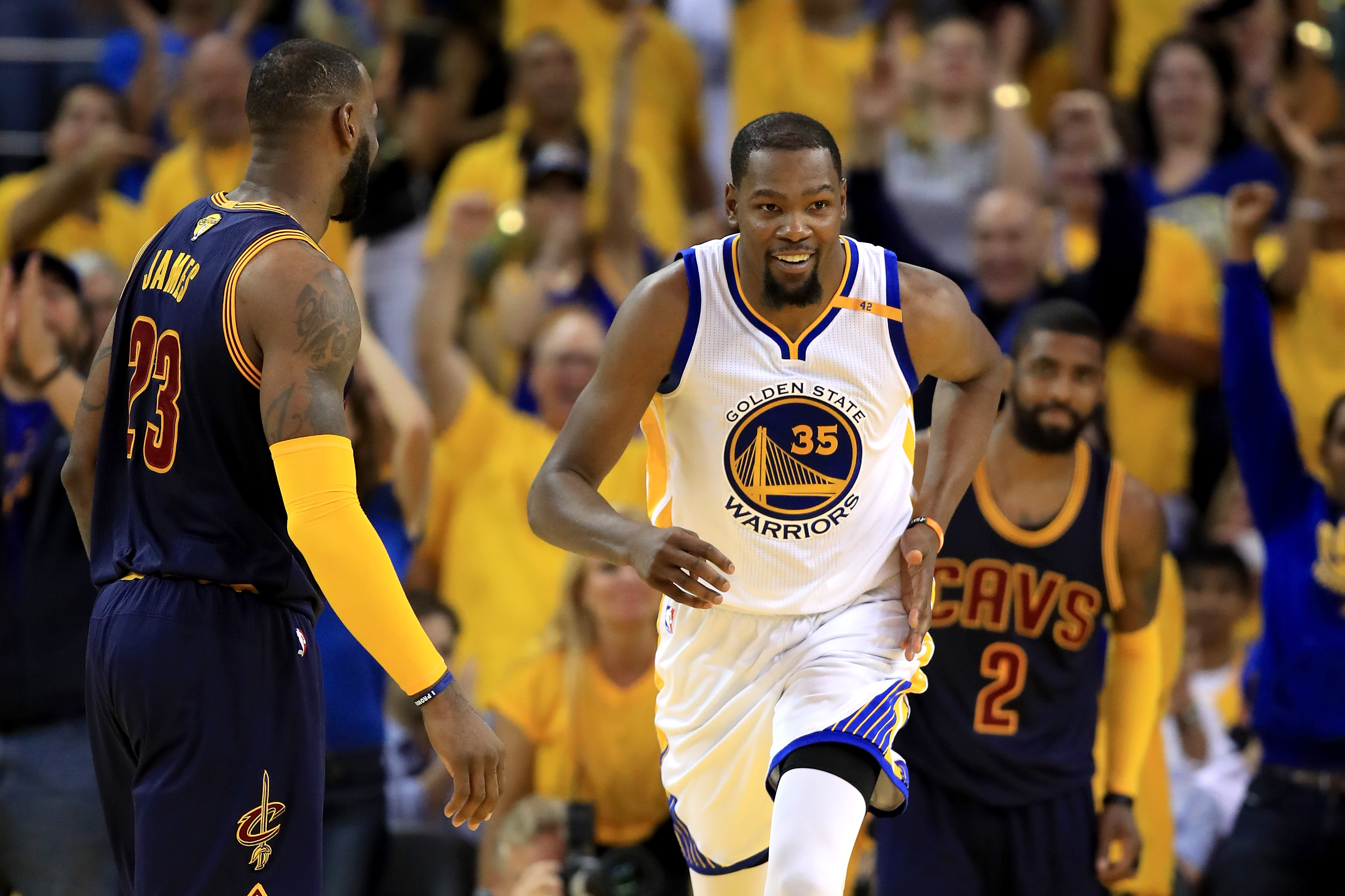 Image result for cavs warriors game 2
