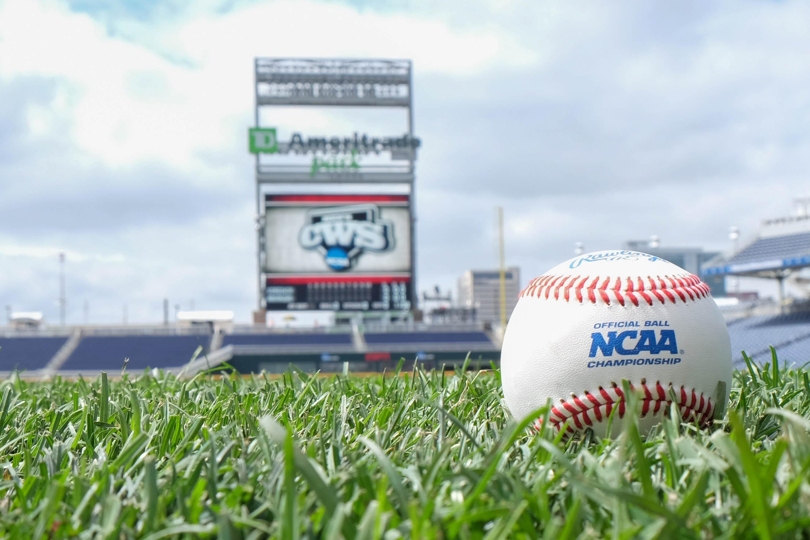 NCAA Baseball: College World Series-Arkansas vs Virginia