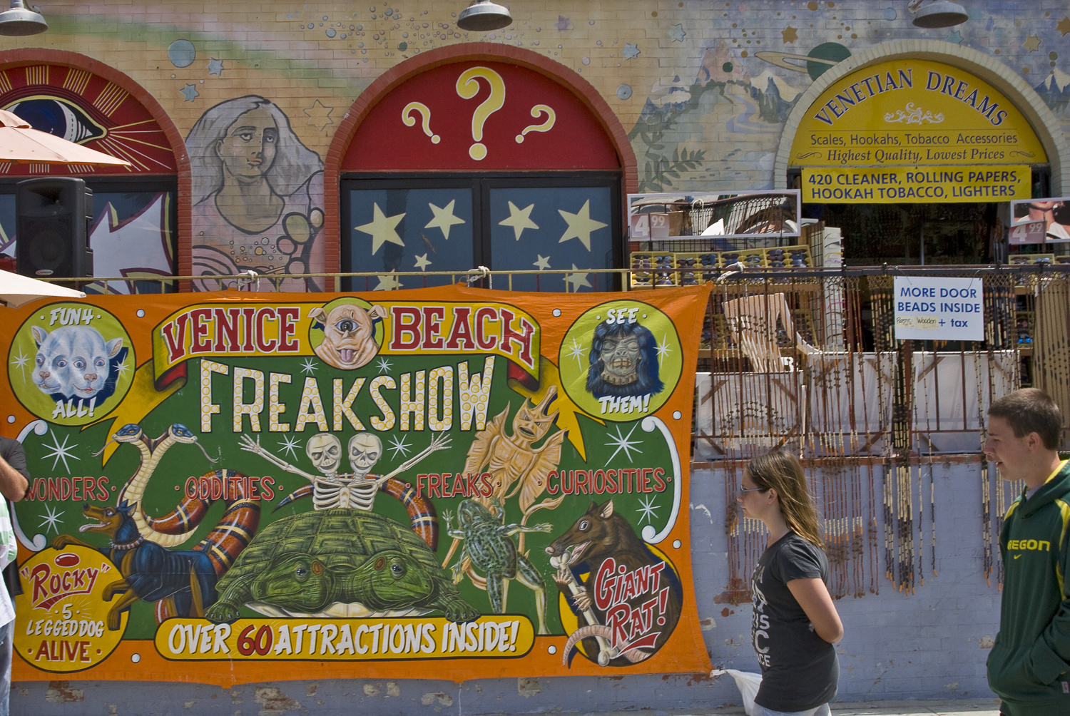 The Venice Freakshow in 2011.