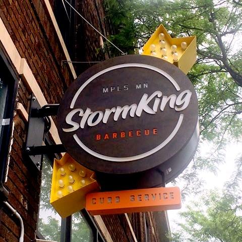 Storm King Cafe Menu