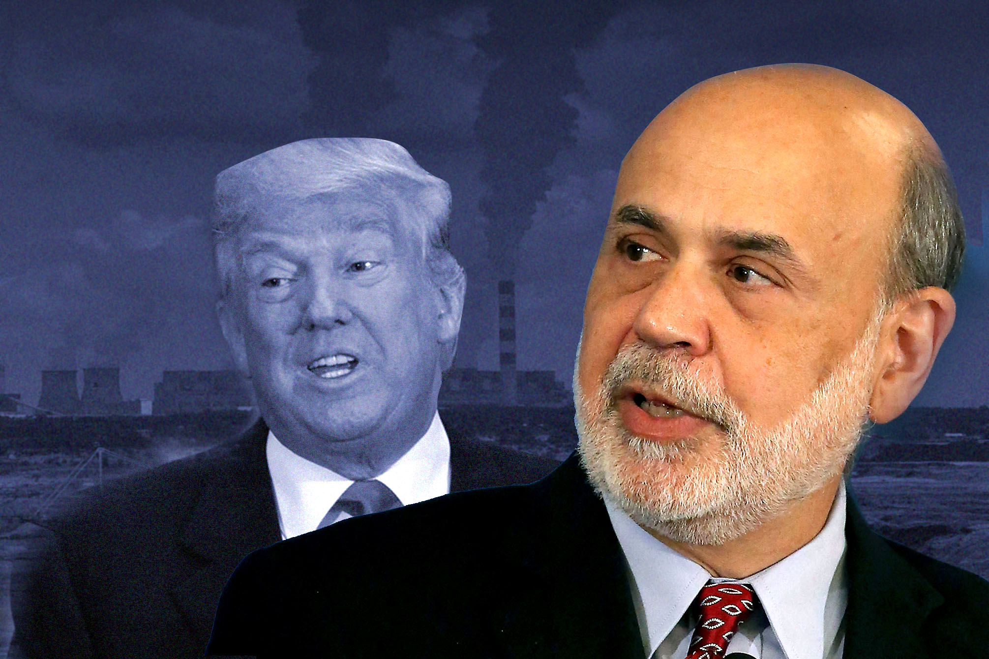 Ben Bernanke explains what Donald Trump gets wrong on the economy