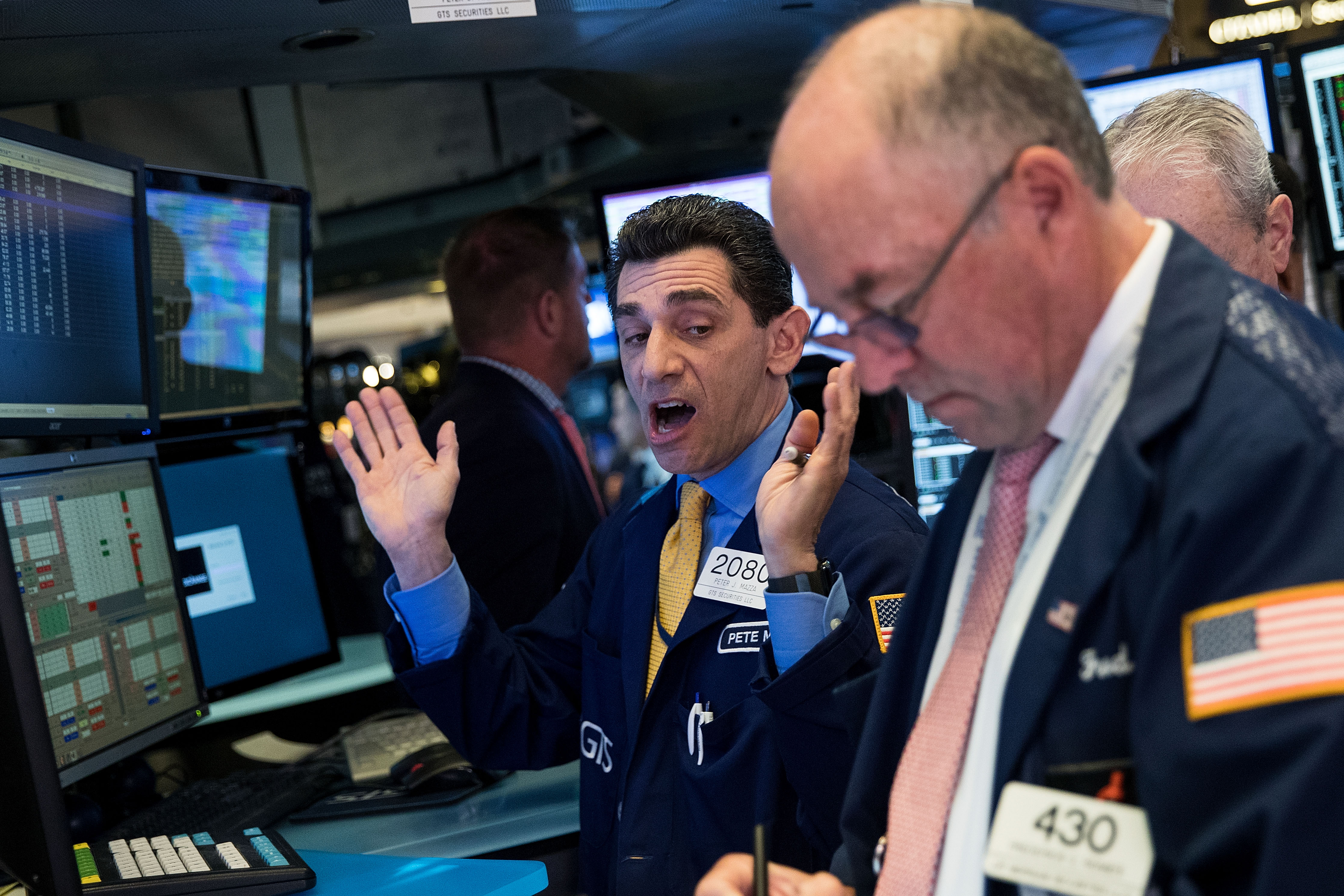 New York Stock Exchange Opens One Day After Major Plunge