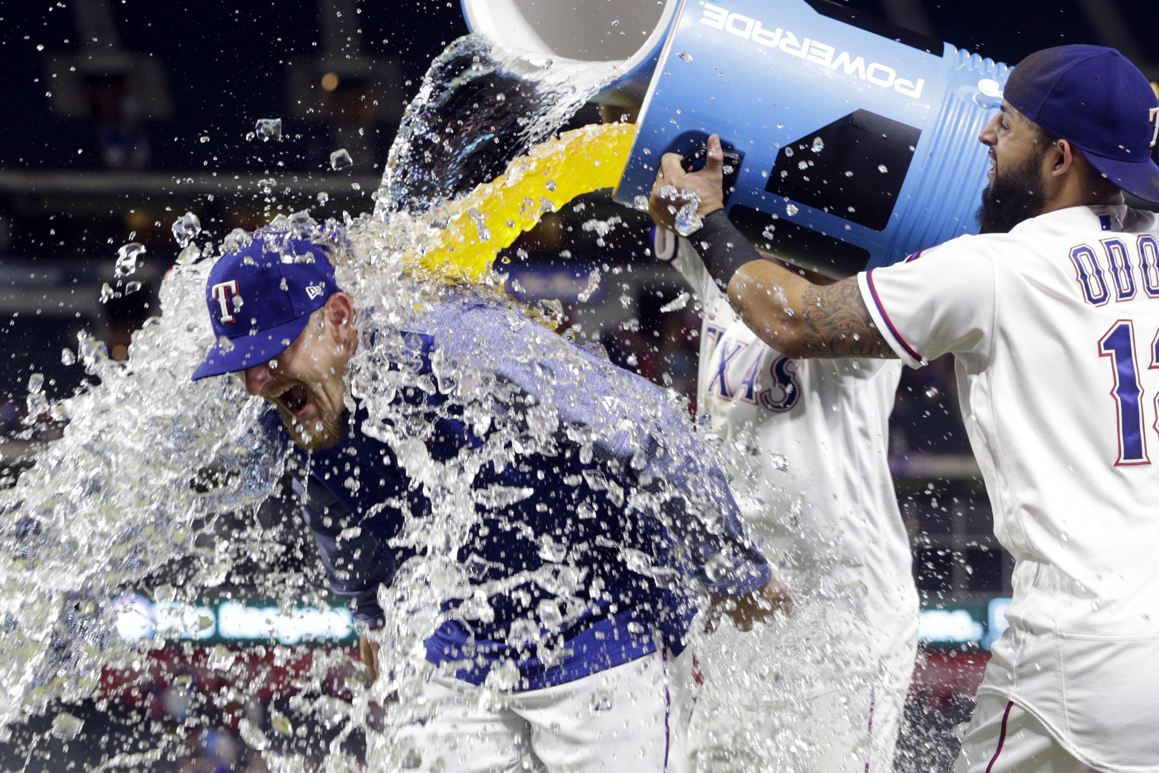 MLB: New York Mets at Texas Rangers