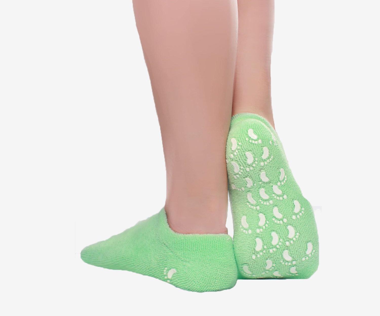 These Gel Socks Saved My Dry, Cracked Feet