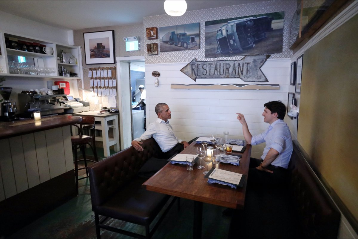 And Trudeau Have A Liverpool House Dinner Date In Montreal