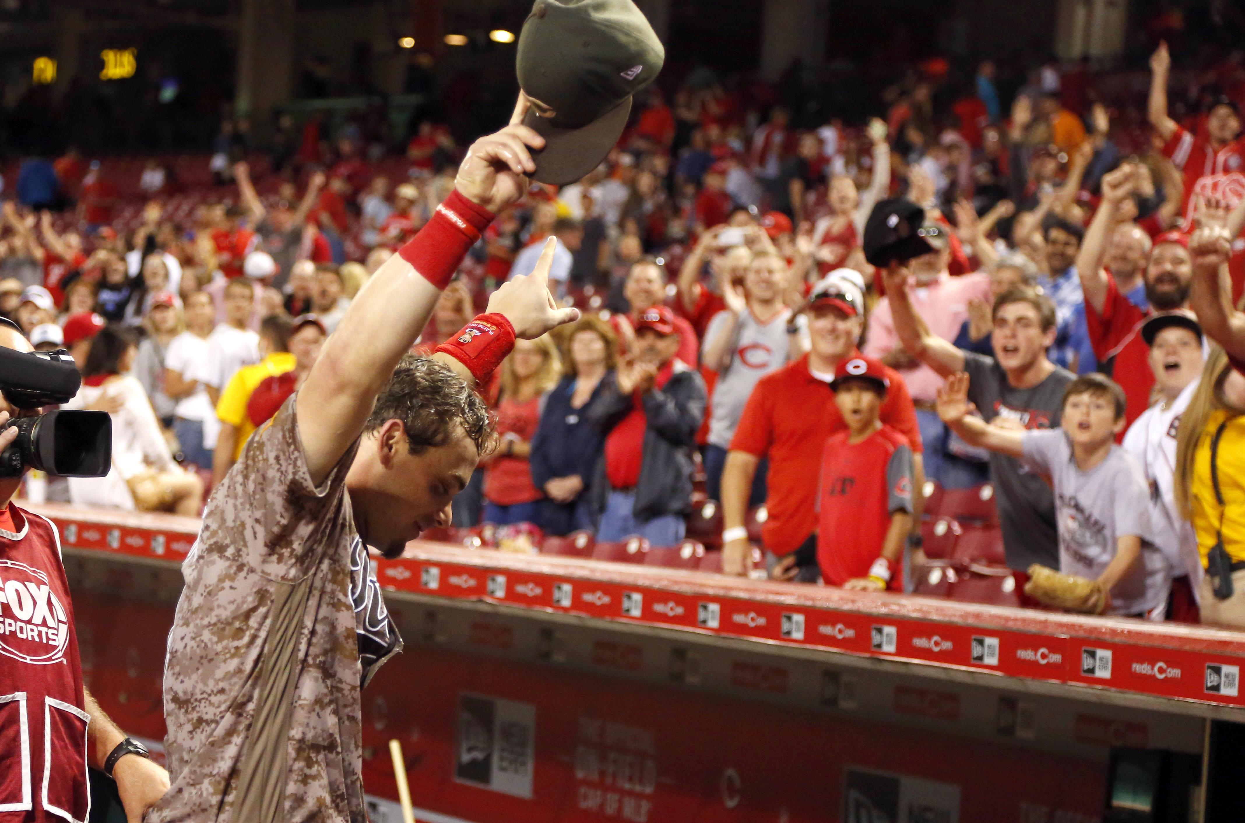 MLB: St. Louis Cardinals at Cincinnati Reds