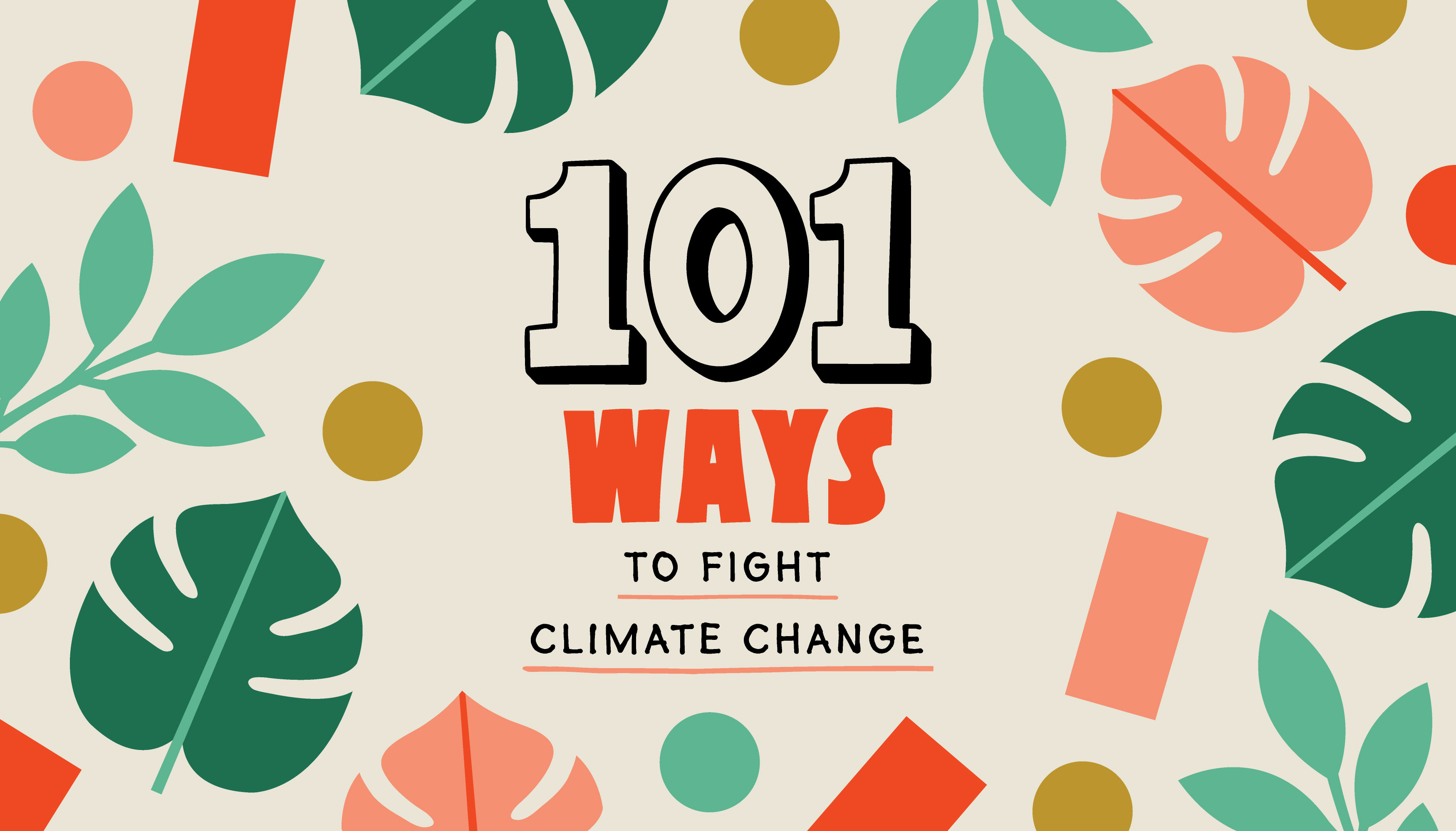 101 ways to fight climate change