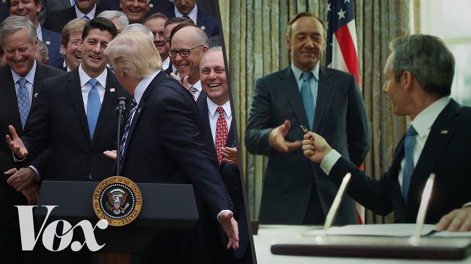 Trump, House of Cards