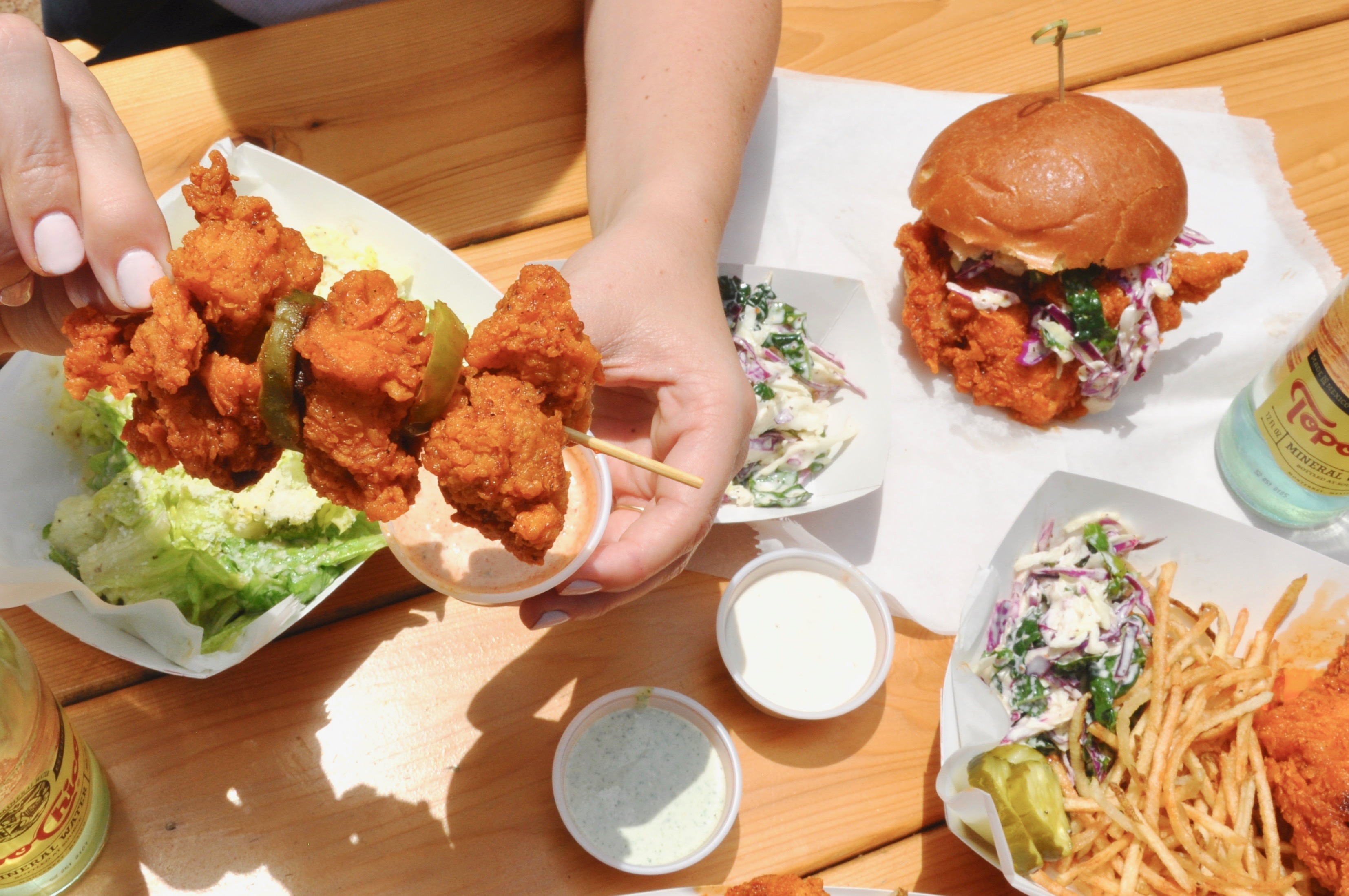 Hot chicken from Tumble 22
