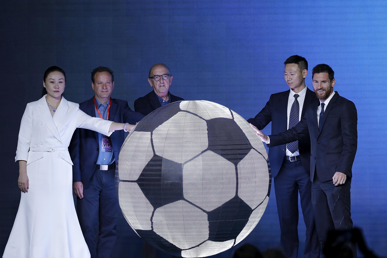 2017 Lionel Messi China Tour