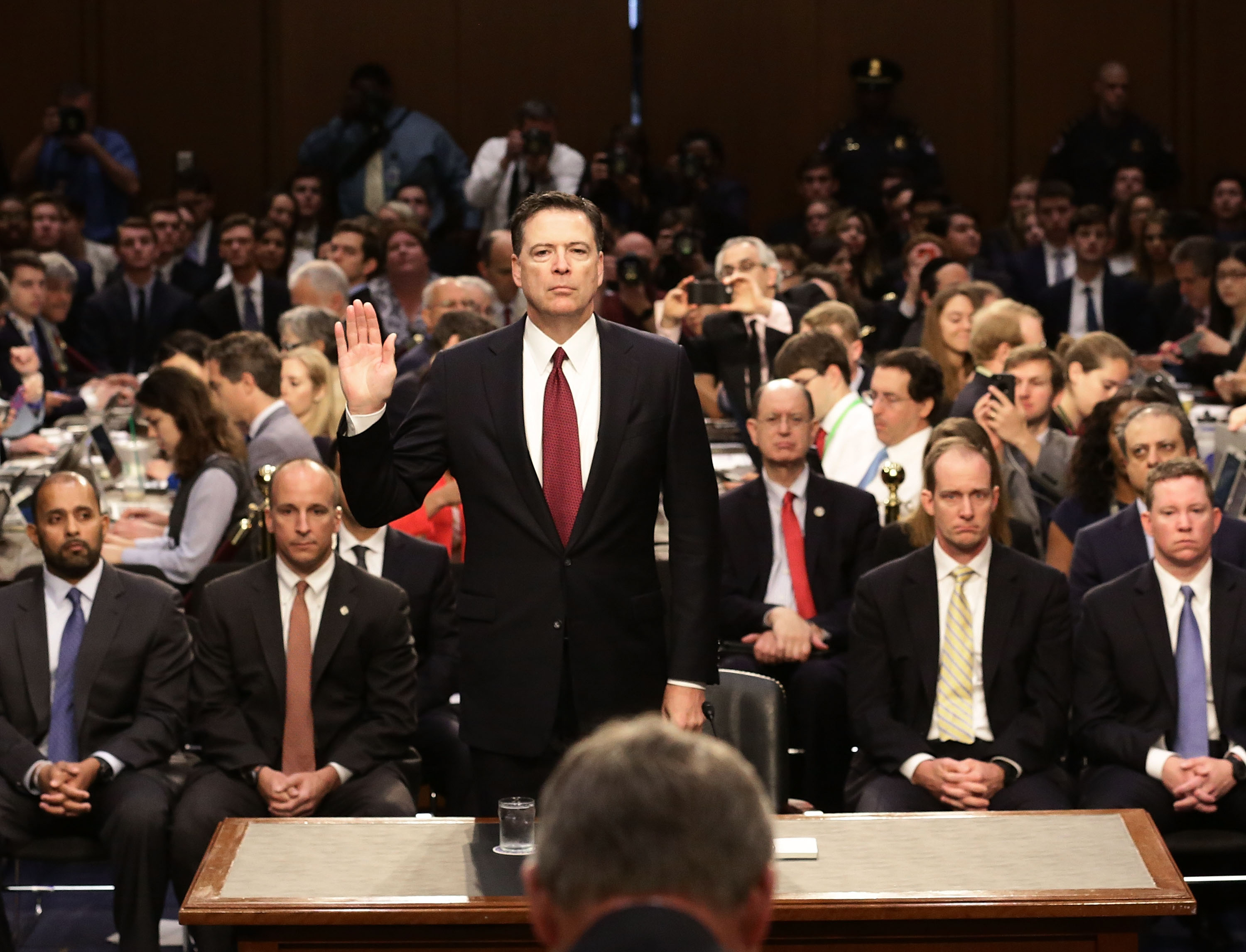 Image result for risch comey hearing