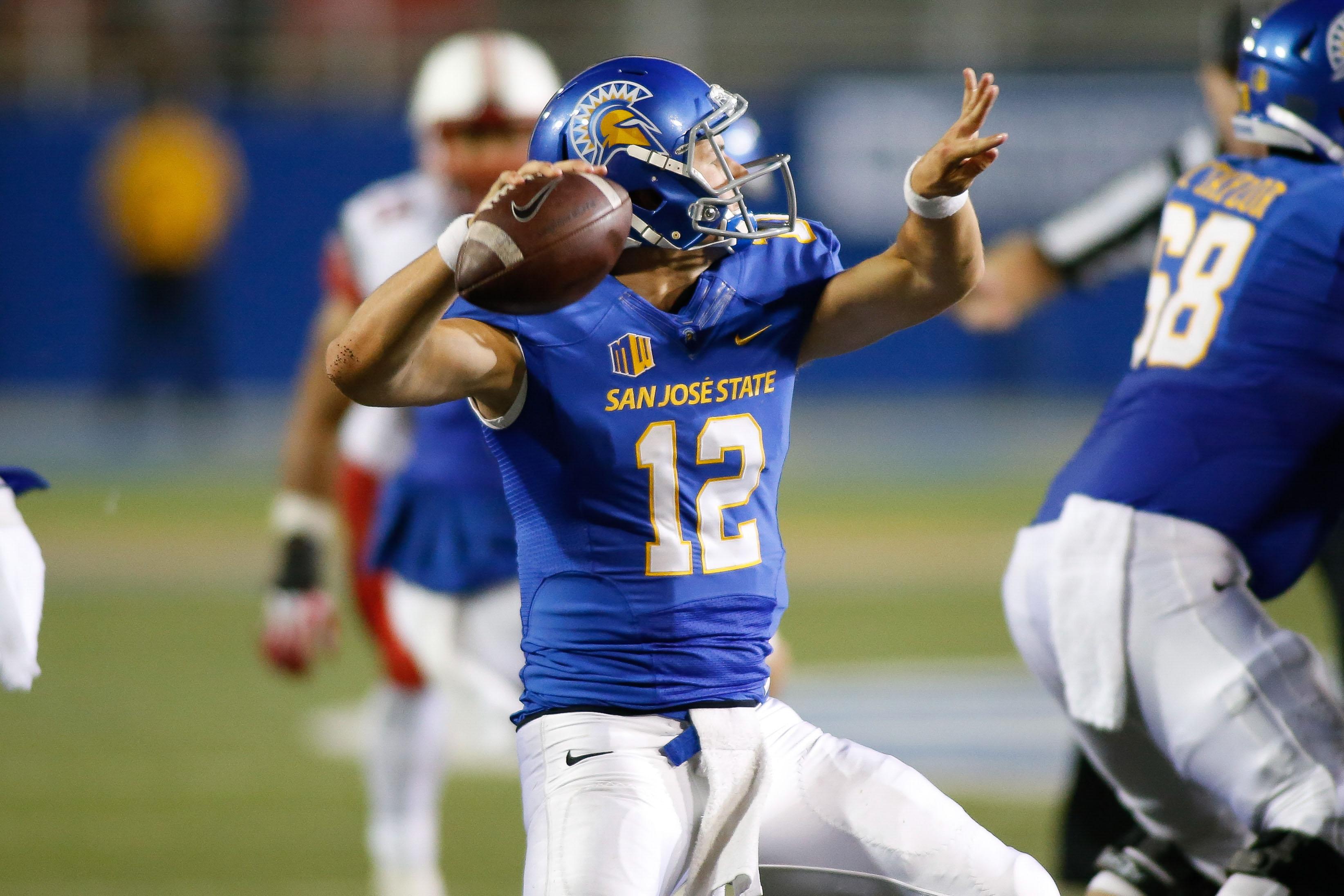 NCAA Football: Utah at San Jose State
