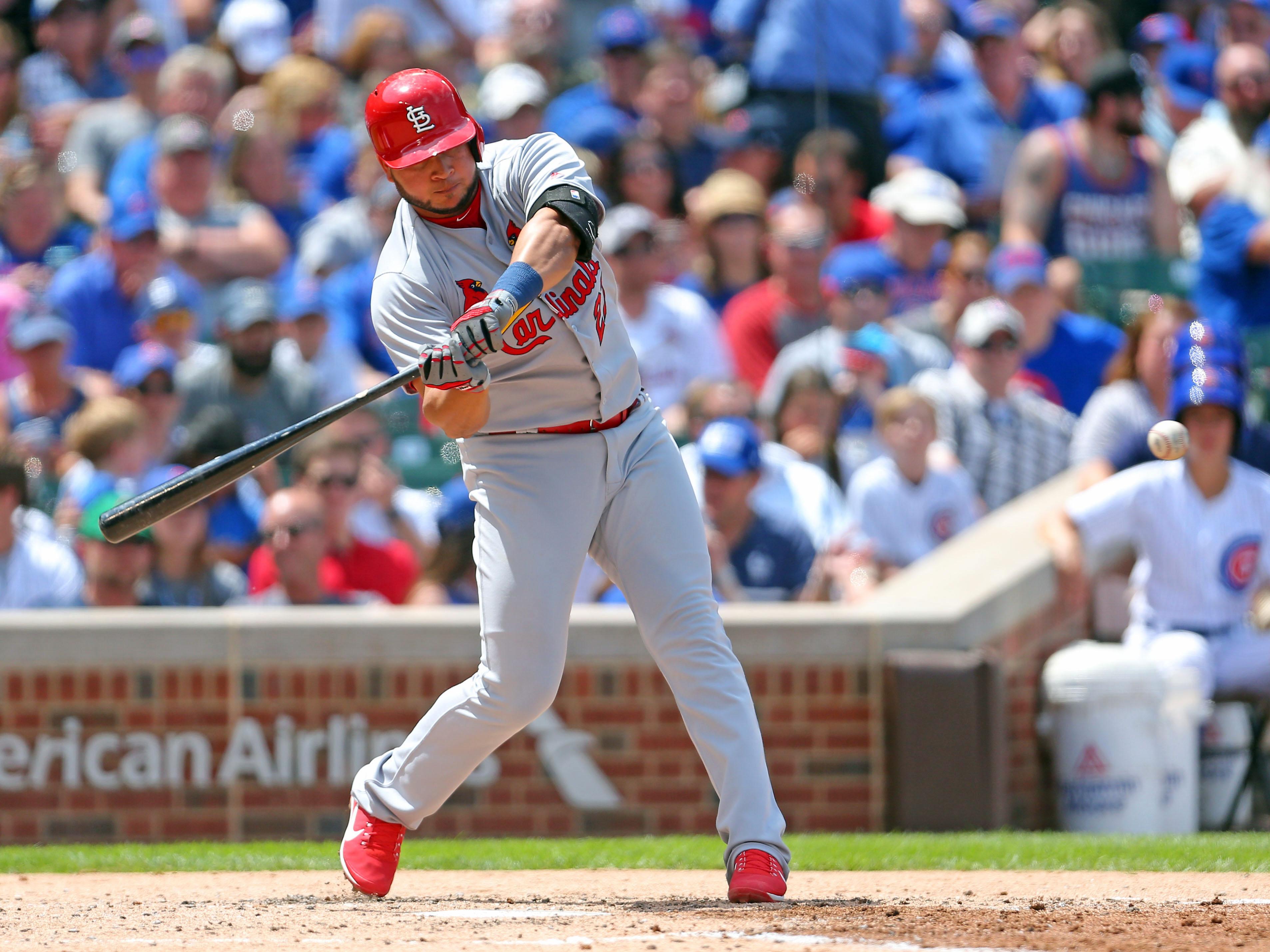 MLB: St. Louis Cardinals at Chicago Cubs
