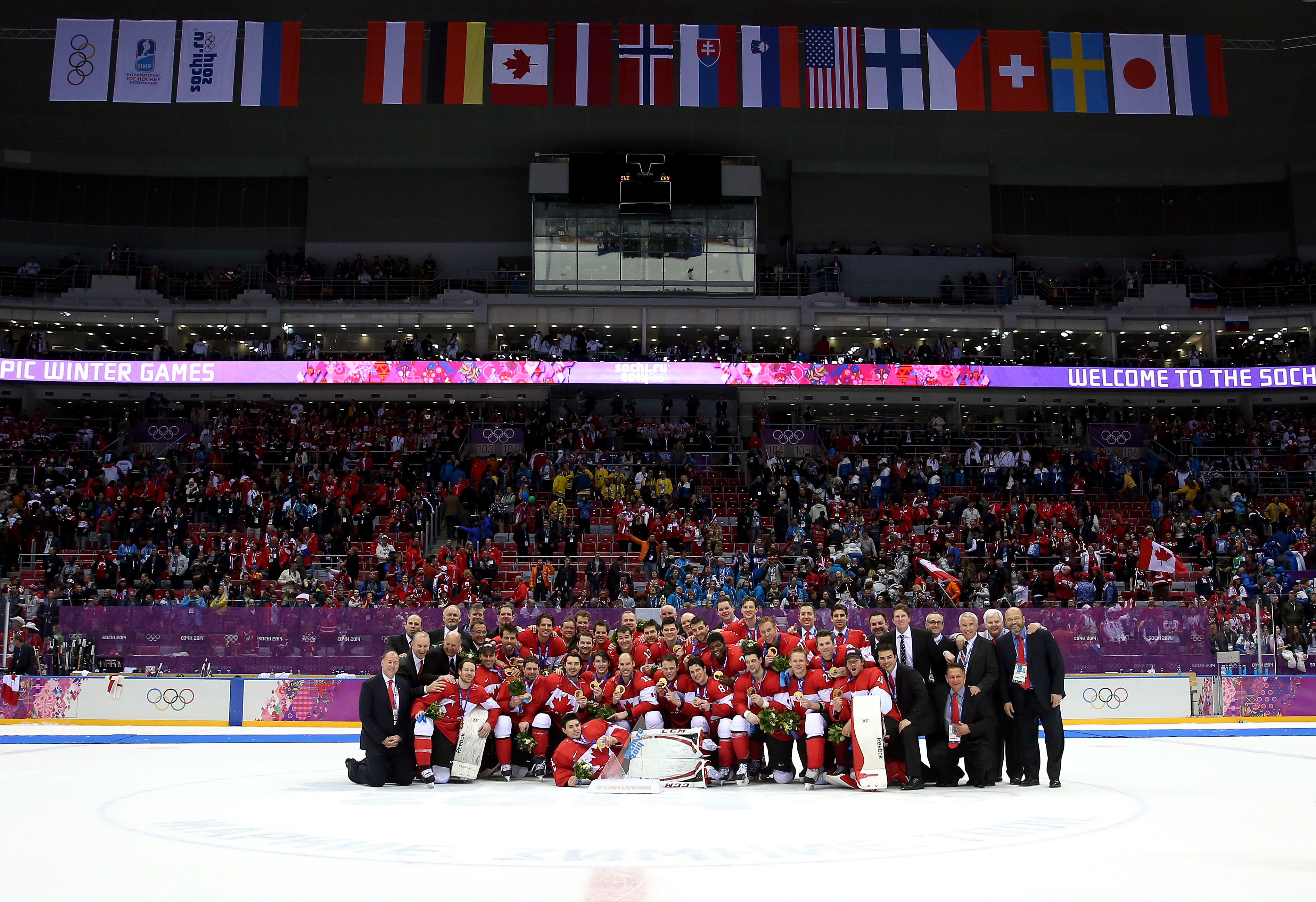 Ice Hockey Gold Medal - Sweden v Canada