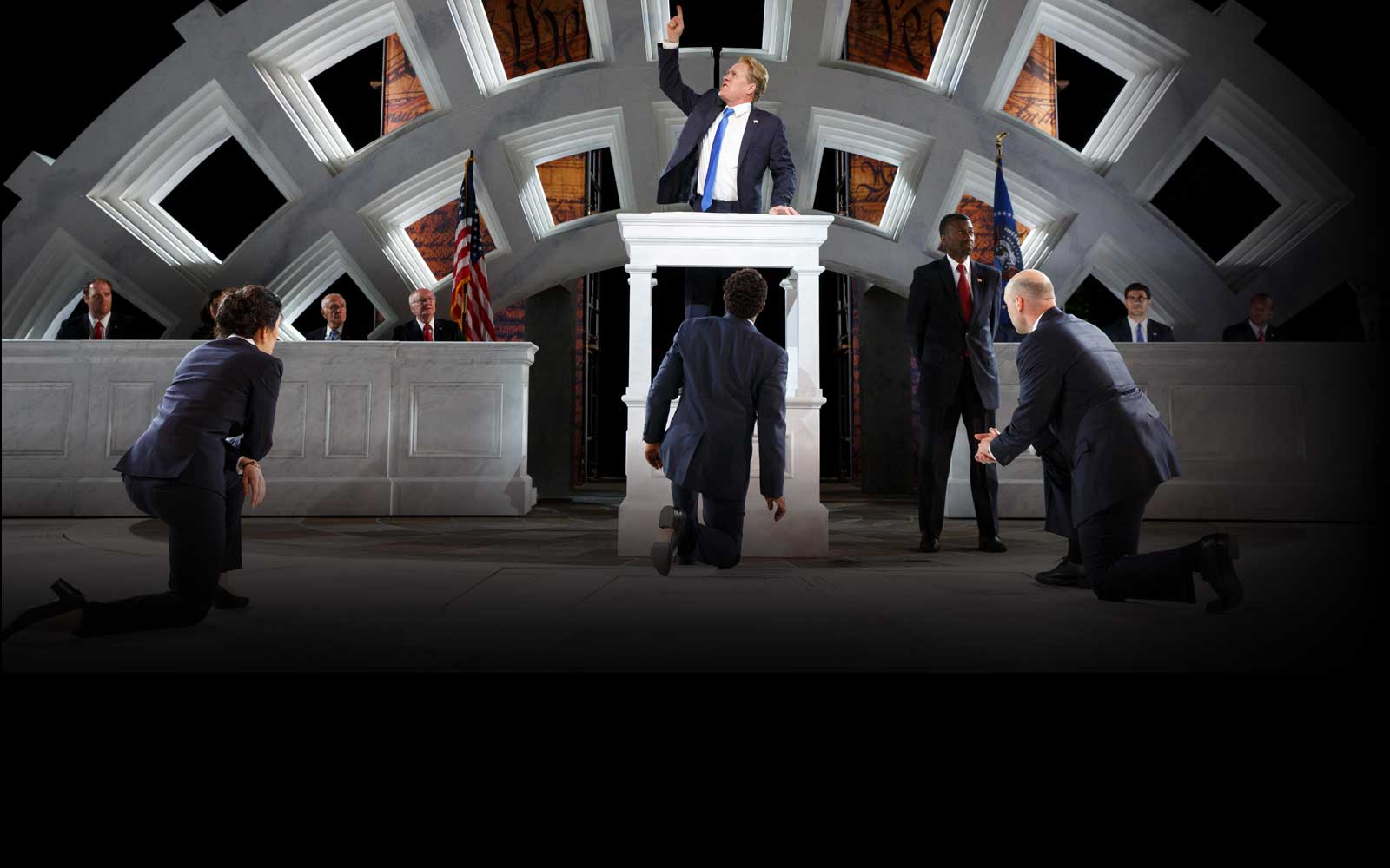 Why outrage over Shakespeare in the Park's Trump-like Julius Caesar is so misplaced