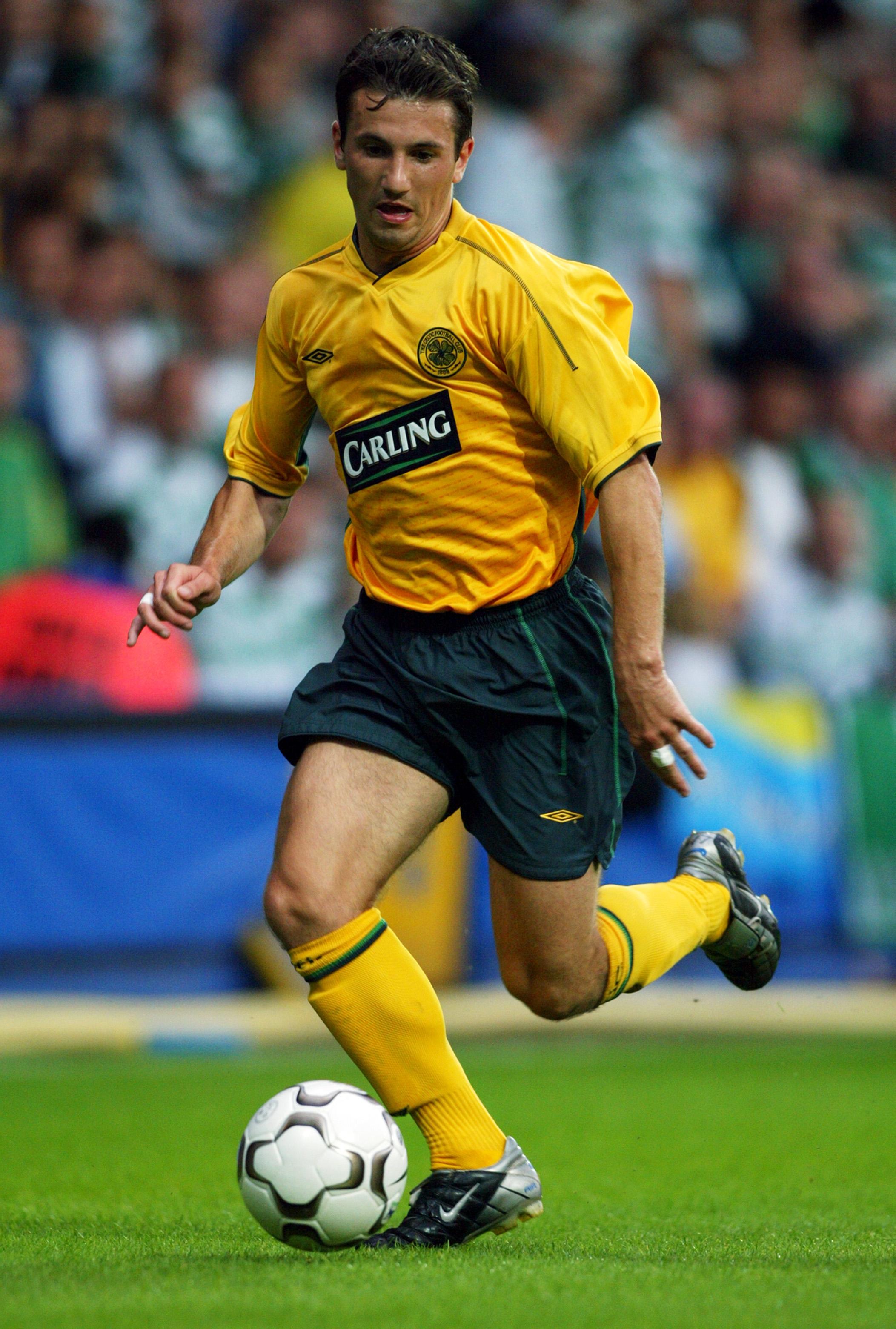 Liam Miller of Celtic