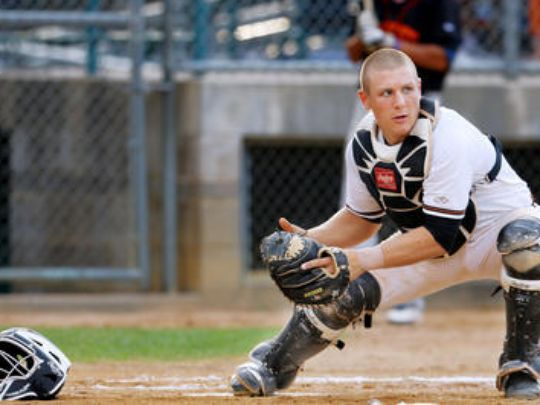 Varsho can hit, but can he stay behind the plate defensively?