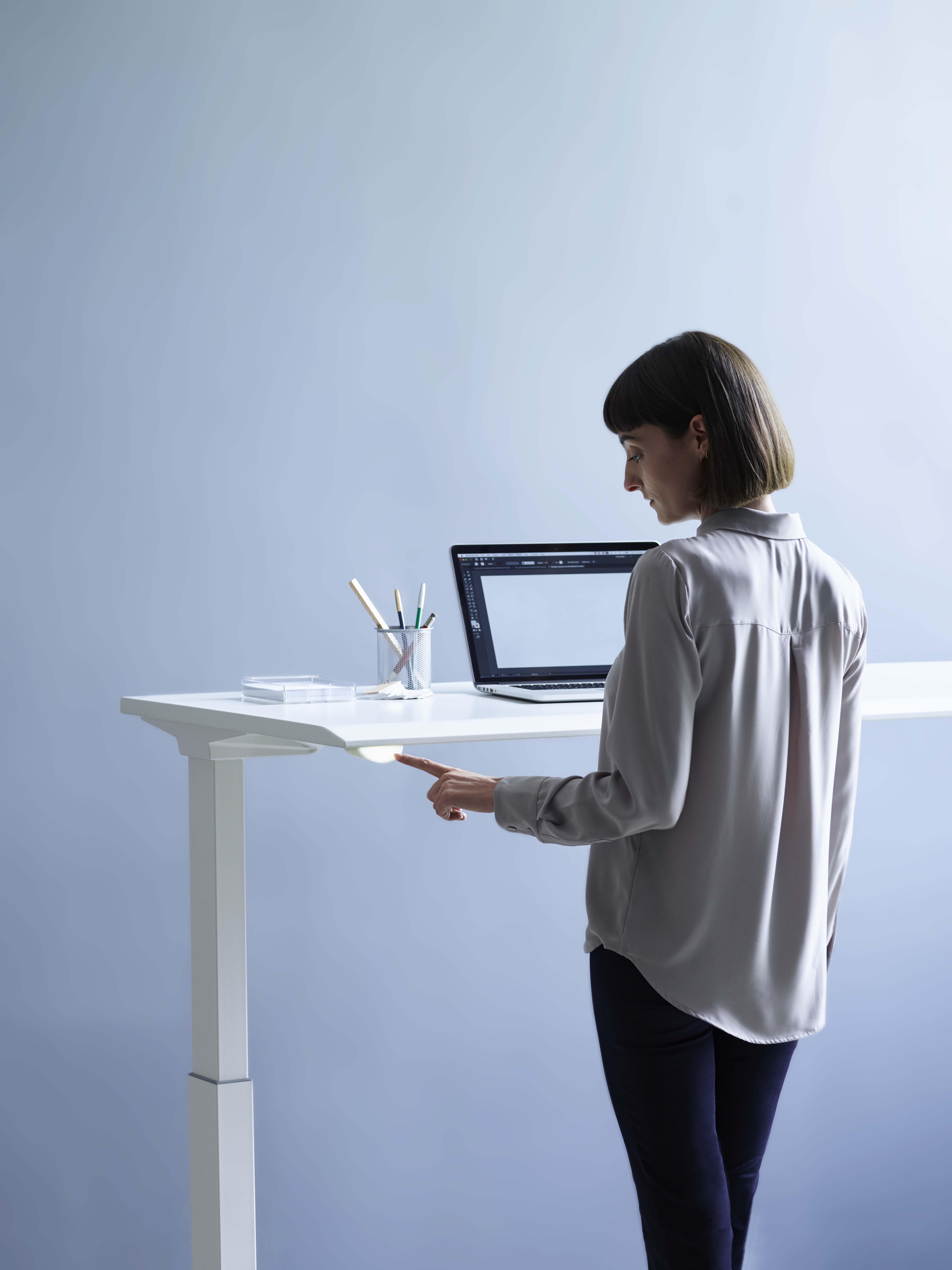 Herman Miller sit-stand desk